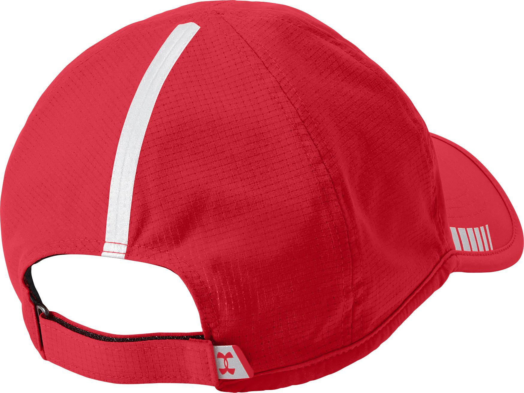Lyst - Under Armour Launch Armourvent Running Hat in Red for Men 08dfcb482b9e