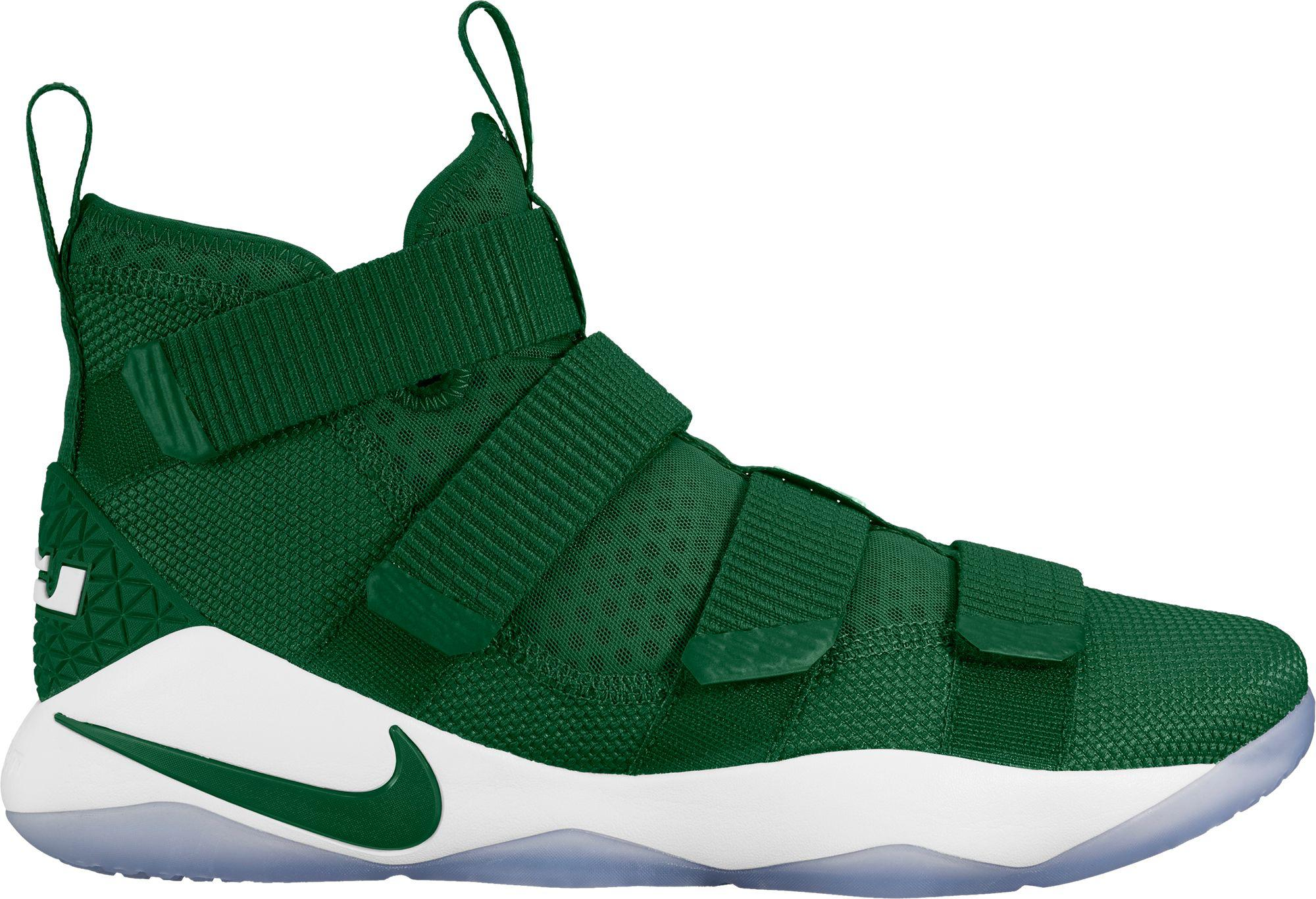efb61a903349 Nike Zoom Lebron Soldier Xi Basketball Shoes in Green for Men - Lyst