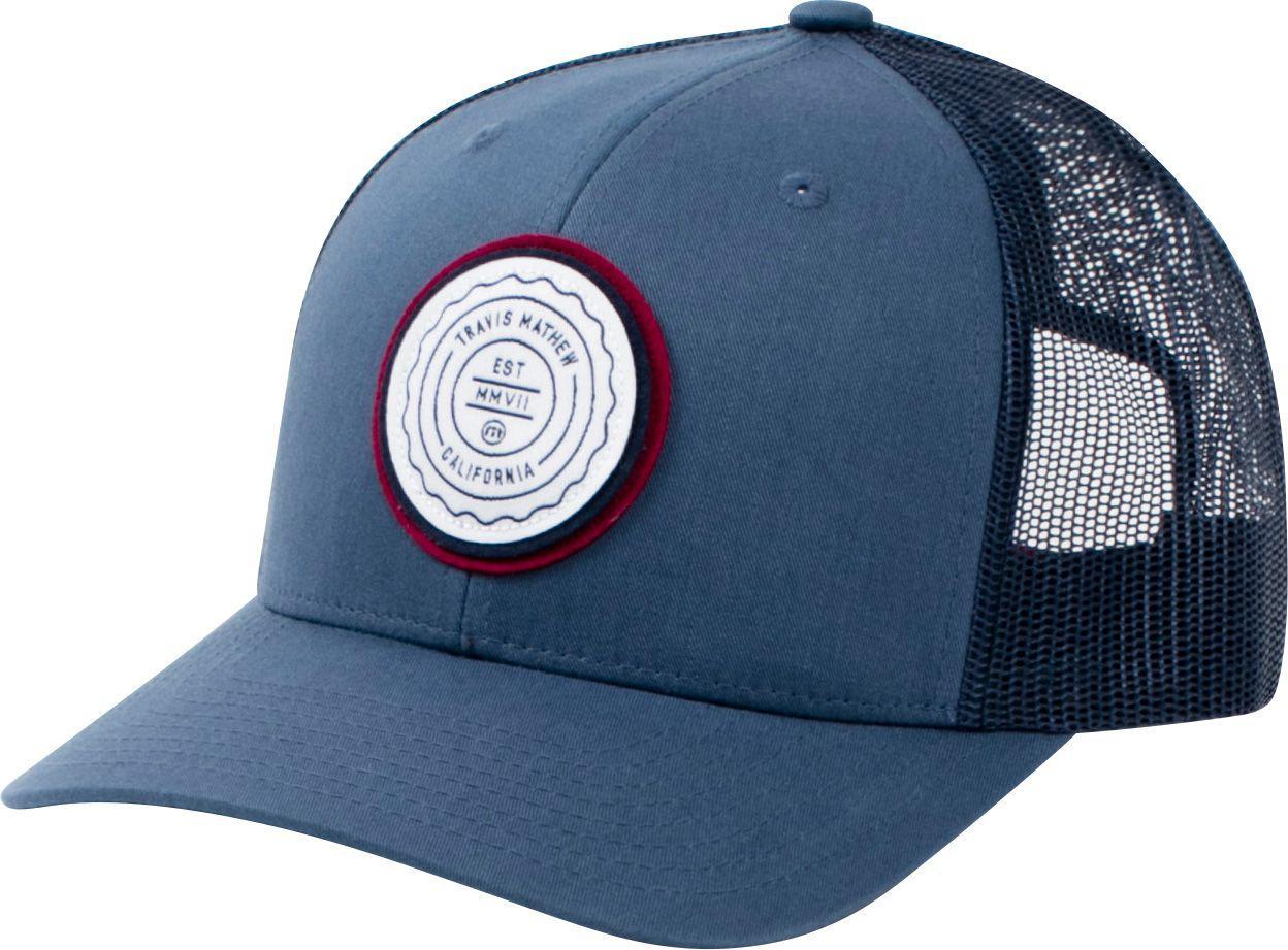 Lyst - Travis Mathew Trip L Golf Hat in Blue for Men 7f4529a8150c