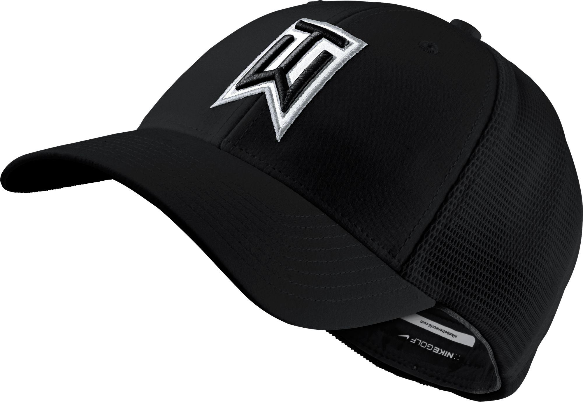 best cheap 1fbe2 4bbc3 Nike Tiger Woods Legacy91 Tour Mesh Golf Hat in Black for Men - Lyst