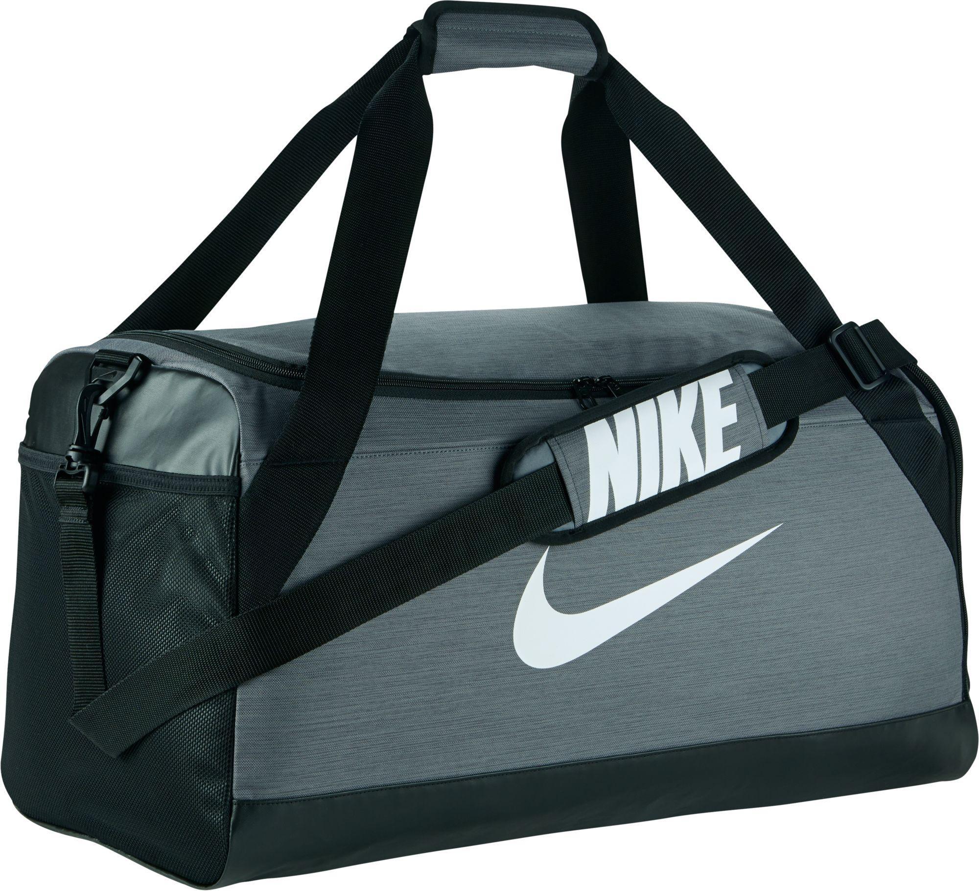 43cf672b6210 Lyst - Nike Men s Training Duffel Bag in Gray for Men - Save 17.5%