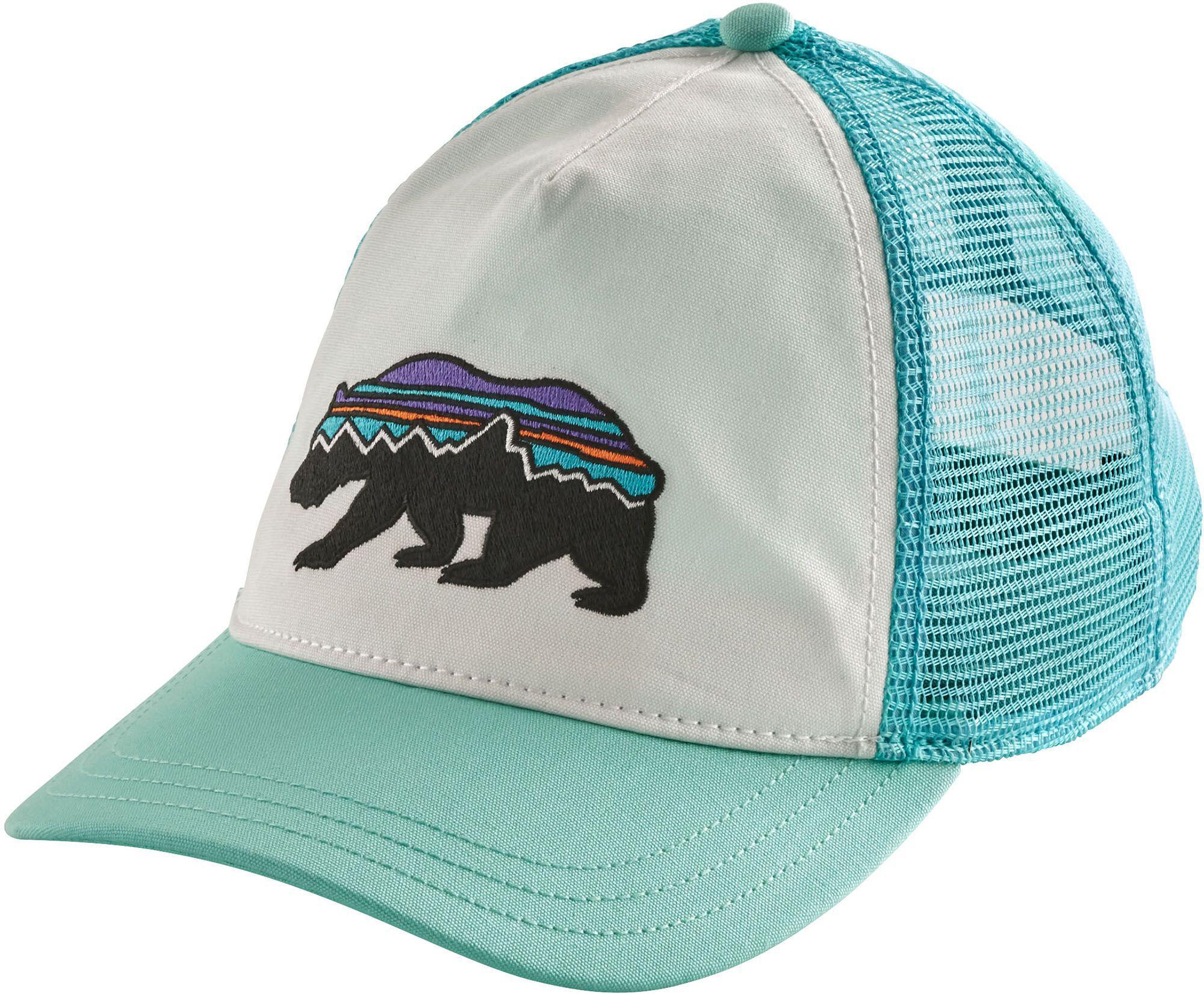 94026a2bf11 Patagonia - Blue Fitz Roy Bear Trucker Hat - Lyst. View fullscreen