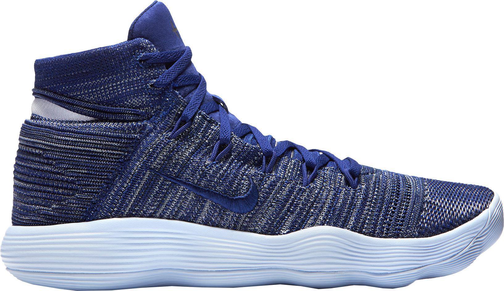 d0f3679b816aad Nike - Blue React Hyperdunk 2017 Flyknit Basketball Shoes for Men - Lyst