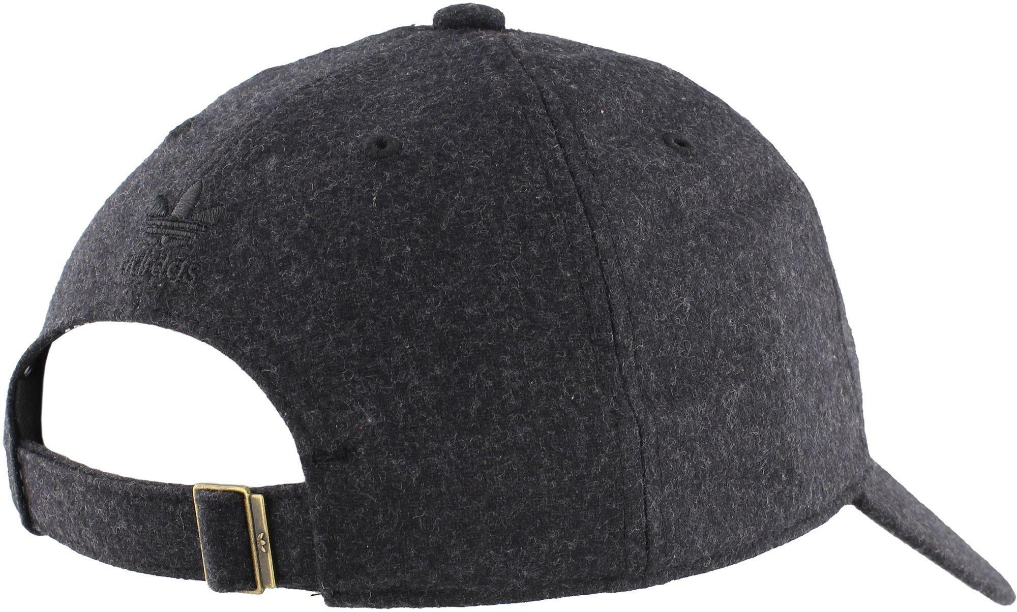 sale retailer 55aa8 eba3f ... Adidas Originals Black Originals Relaxed Plus Strapback Hat for Men Lyst.  View Fullscreen ...