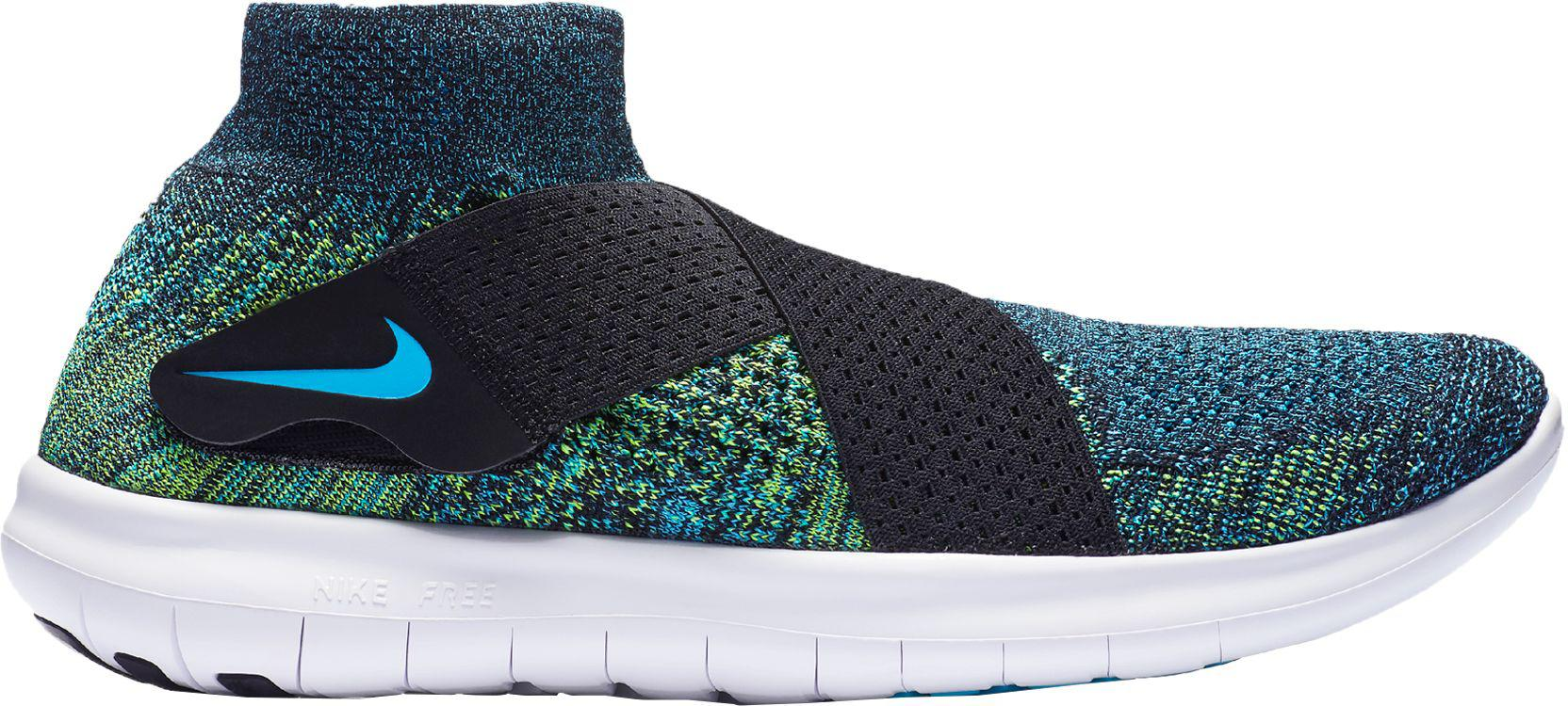 41f35ff03530 Lyst - Nike Free Rn Motion Flyknit 2 Running Shoes in Blue for Men