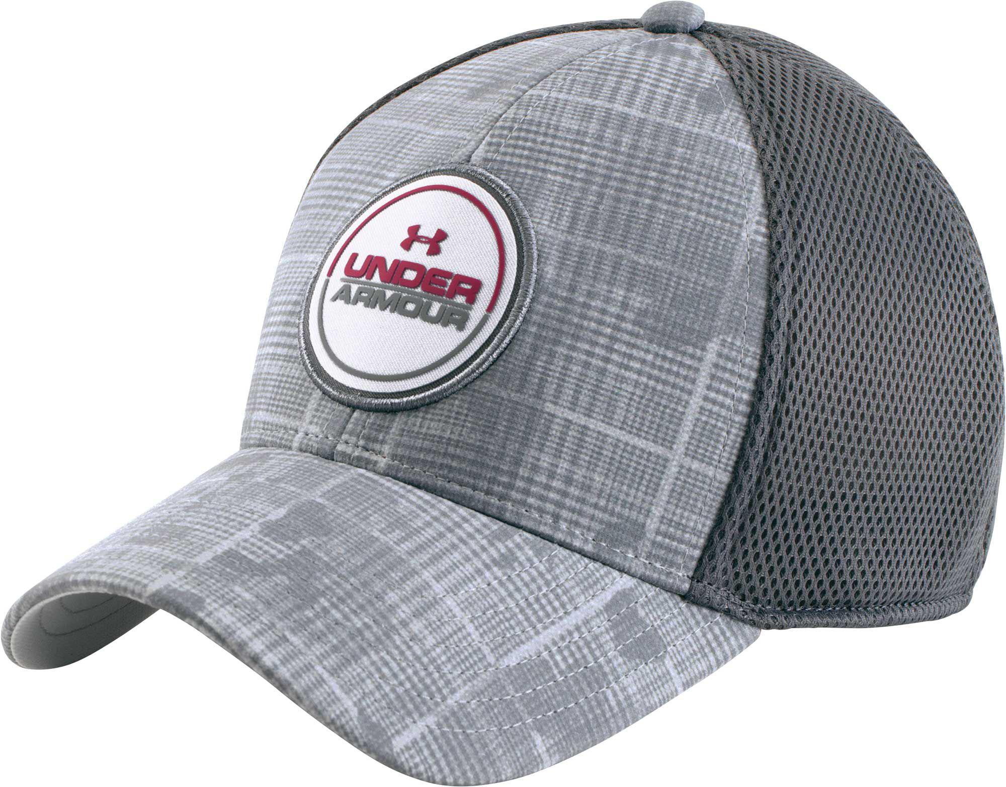 buy popular f1867 69c07 Under Armour Eagle 2.0 Golf Hat in Gray for Men - Lyst