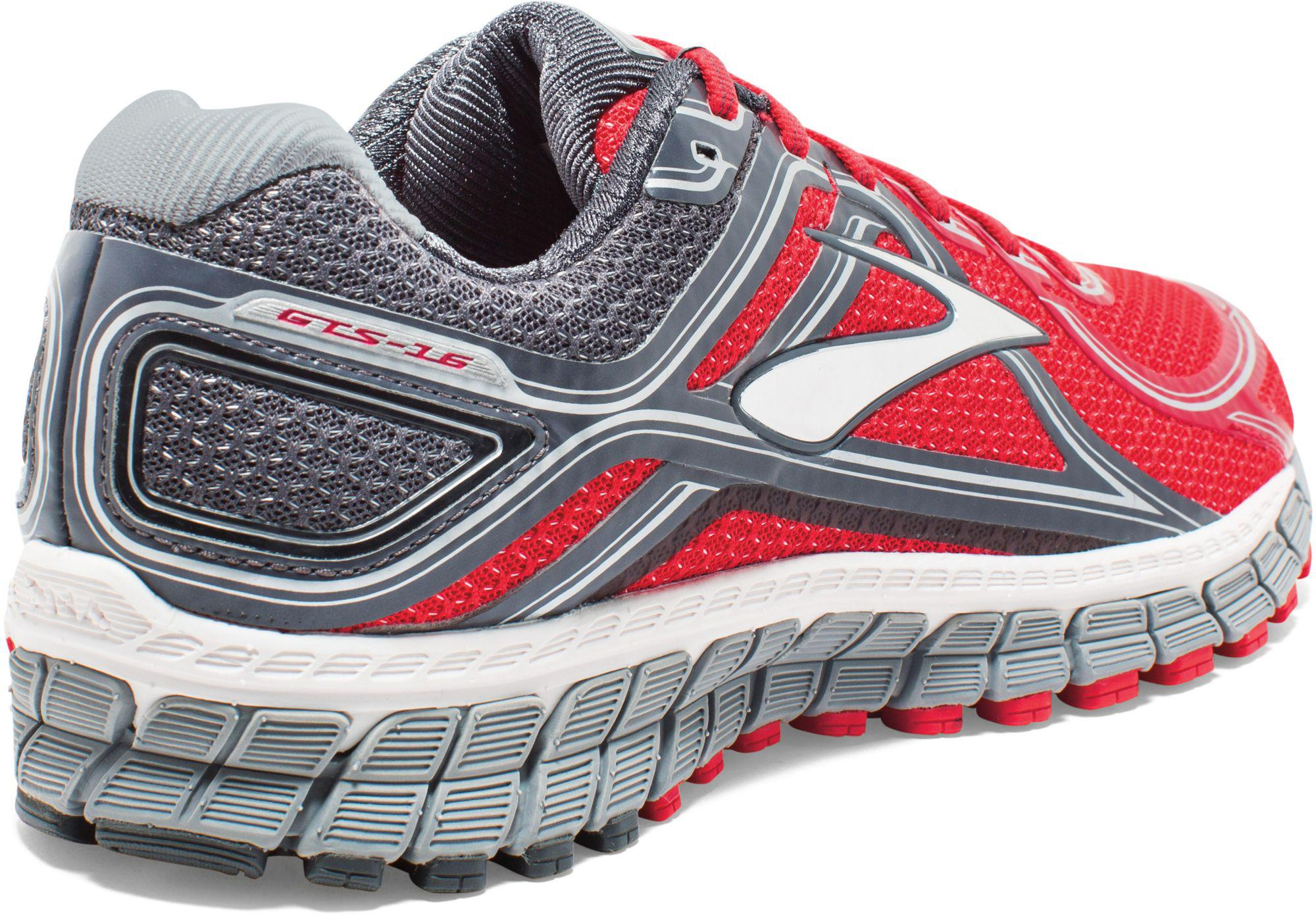 85e6221bf85 Lyst - Brooks Adrenaline Gts 16 Running Shoes in Red for Men