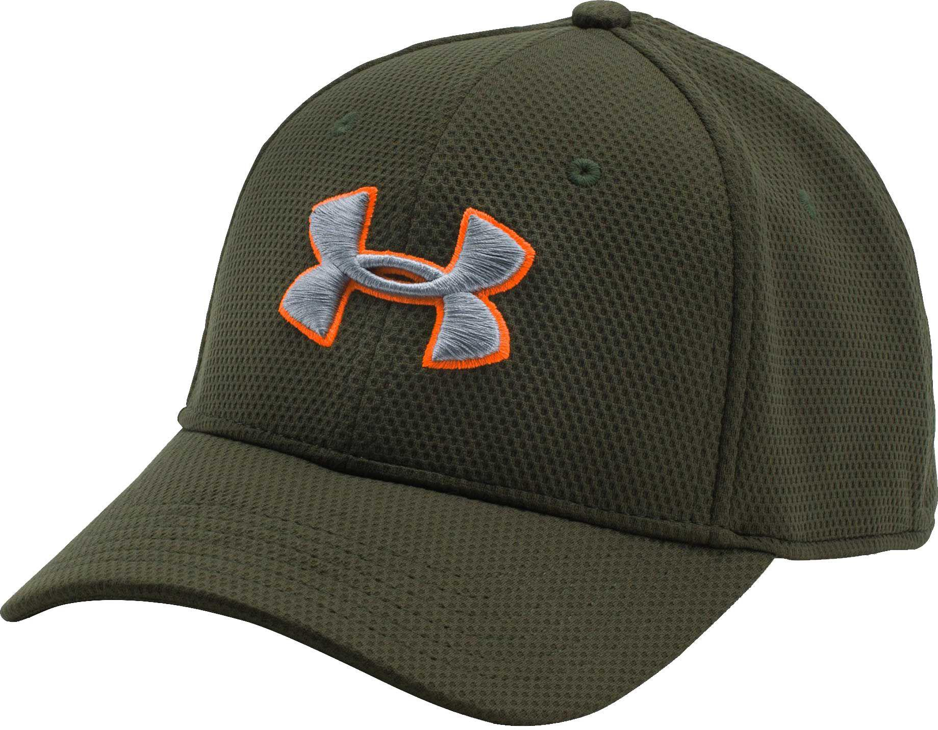 8bec73aa72a Under Armour - Green Men s Ua Blitzing Ii Stretch Fit Cap for Men - Lyst