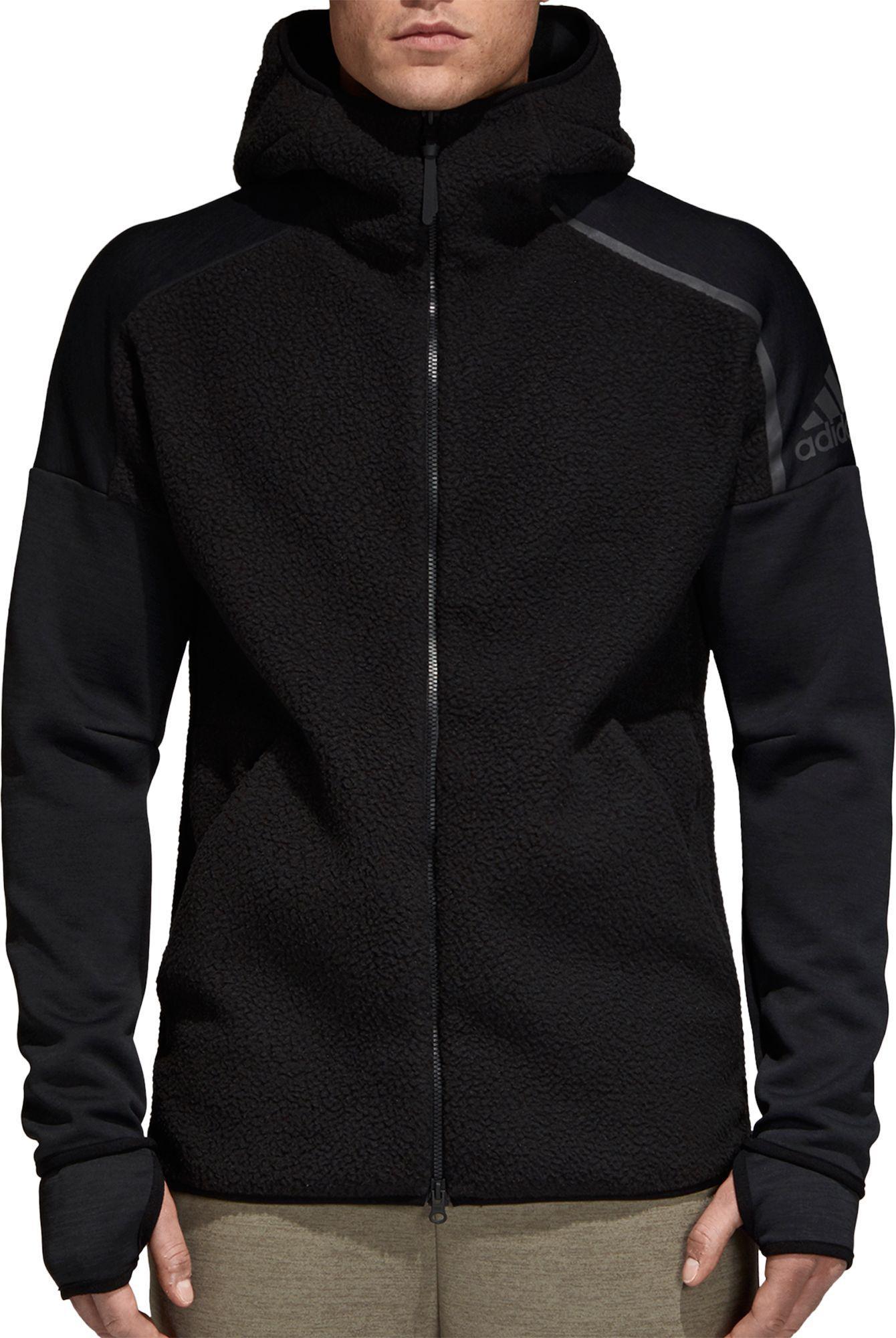 8e62664b0d64 Lyst - adidas Z.n.e. Winterized Full-zip Hoodie in Black for Men