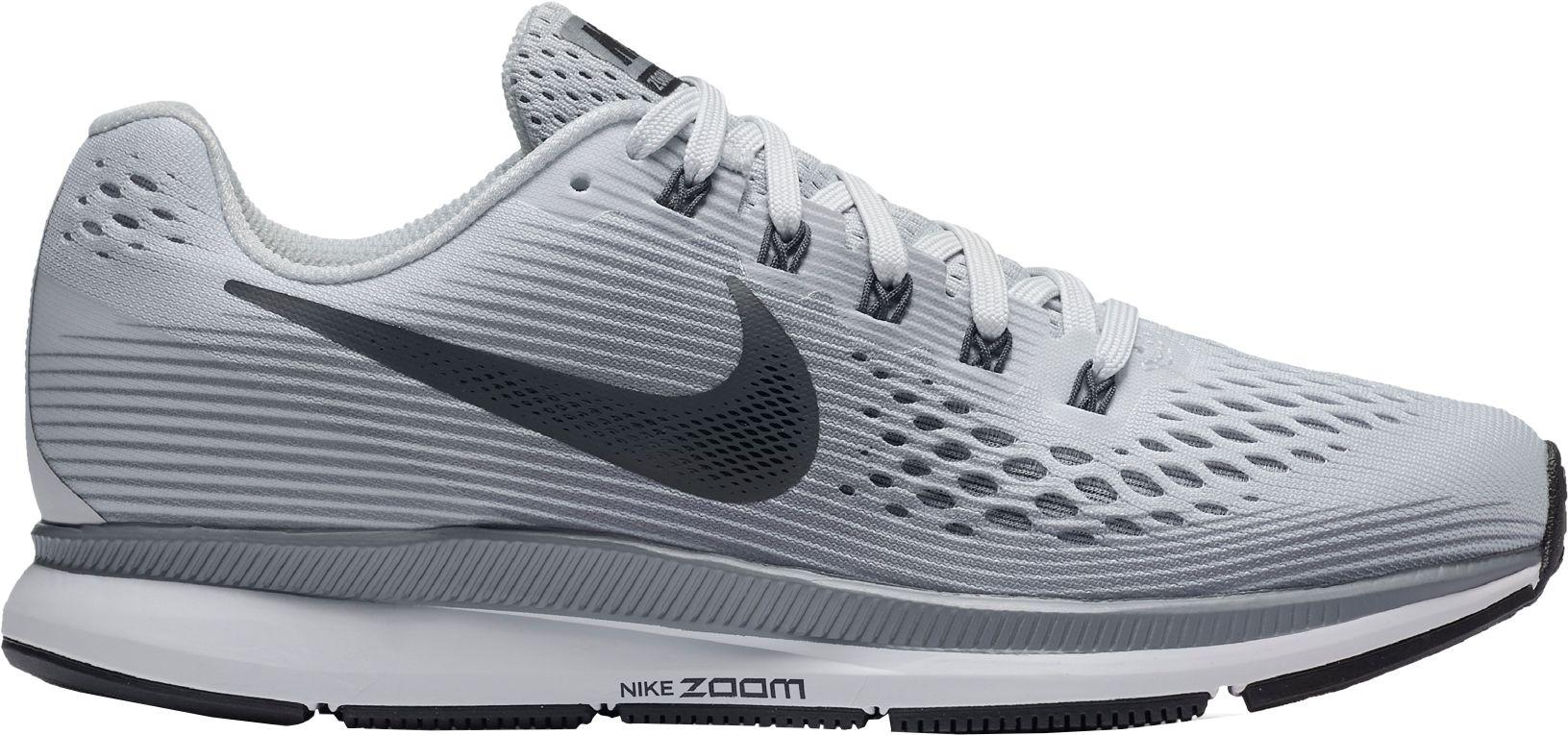 f1c2cfffd3cff Lyst - Nike Air Zoom Pegasus 34 Running Shoes in Gray