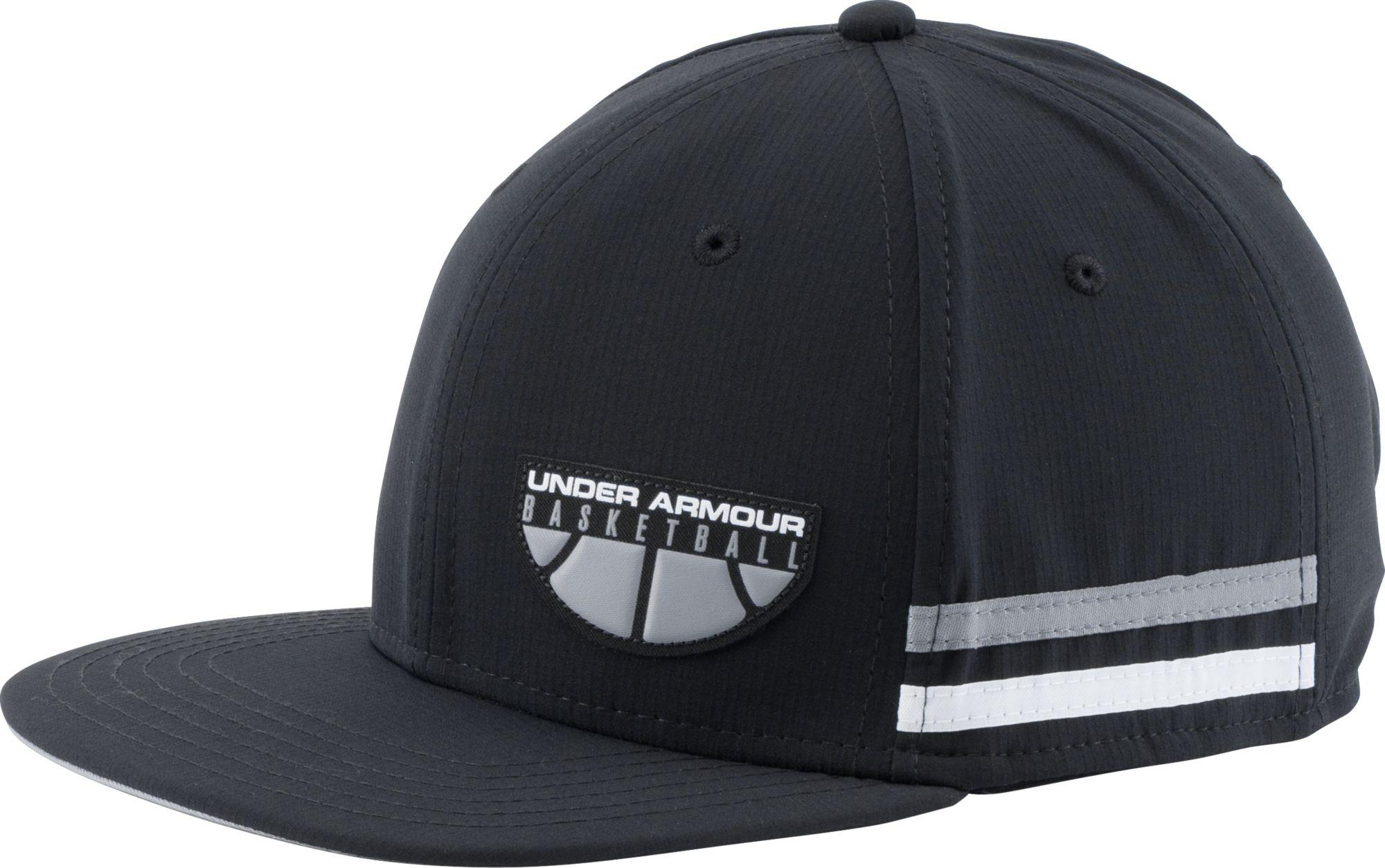 6bb353af00e Lyst - Under Armour Asketball Graphic Snapback Hat in Black for Men