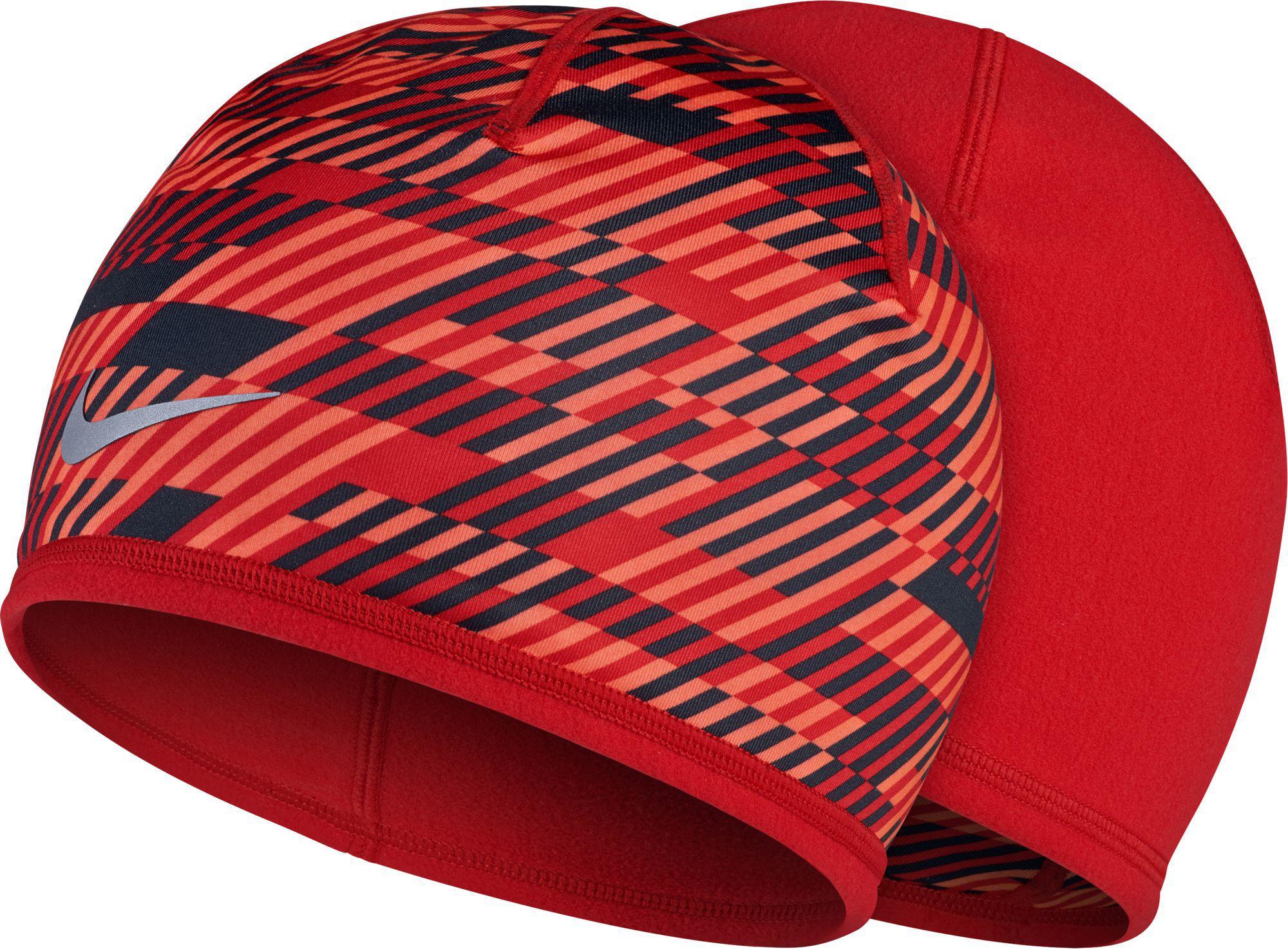 Lyst - Nike Run Hazard Knit Running Hat in Red for Men 508525ad77f