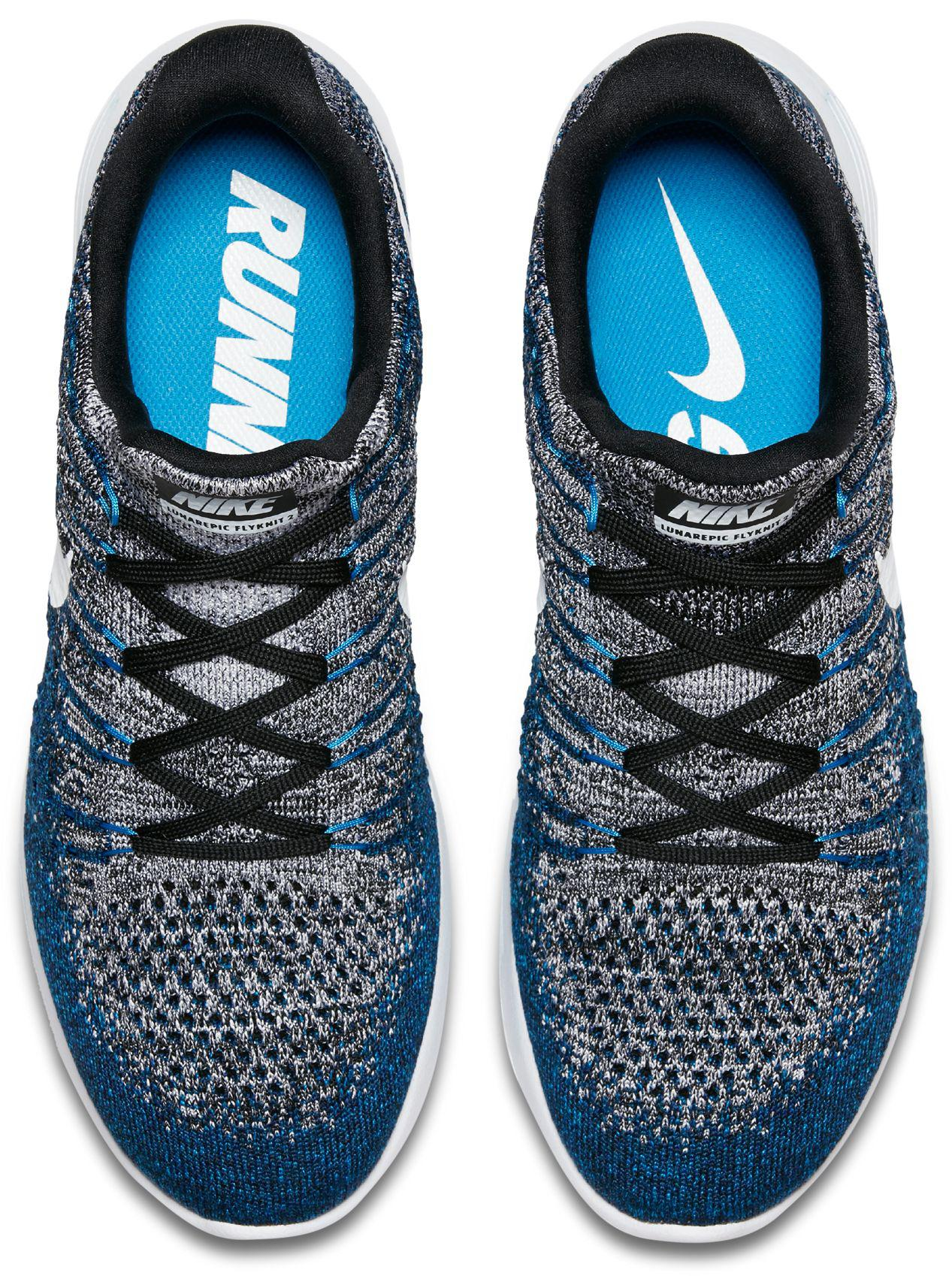 303058450c4ad Lyst - Nike Lunarepic Low Flyknit 2 Running Shoes in Blue for Men