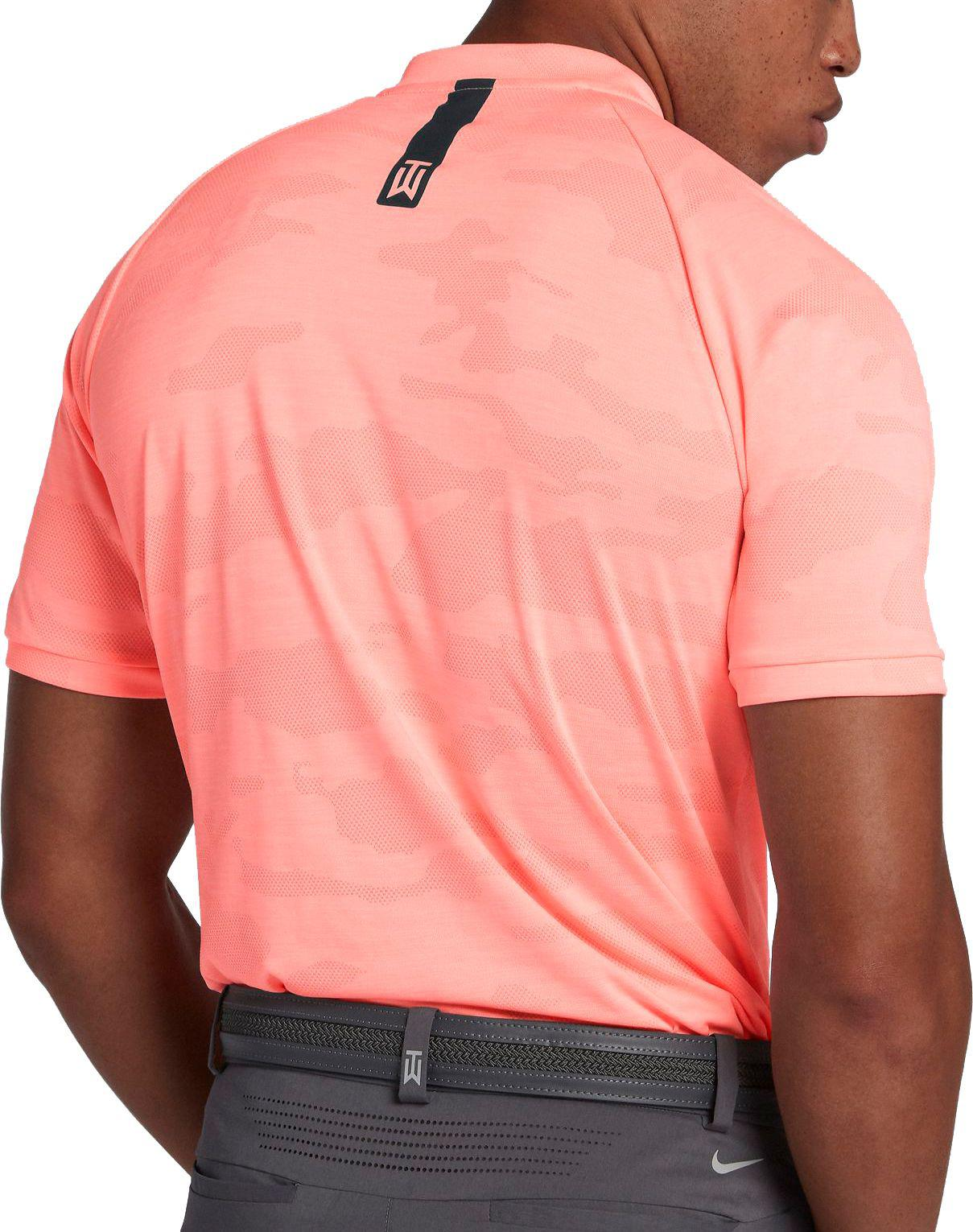 nike polo golf shirts tiger woods