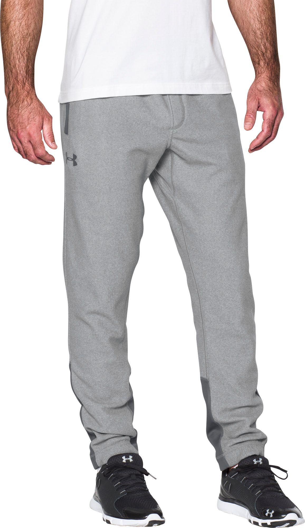 f0a88c399623 Lyst - Under Armour Coldgear Infrared Fleece Pants in Gray for Men