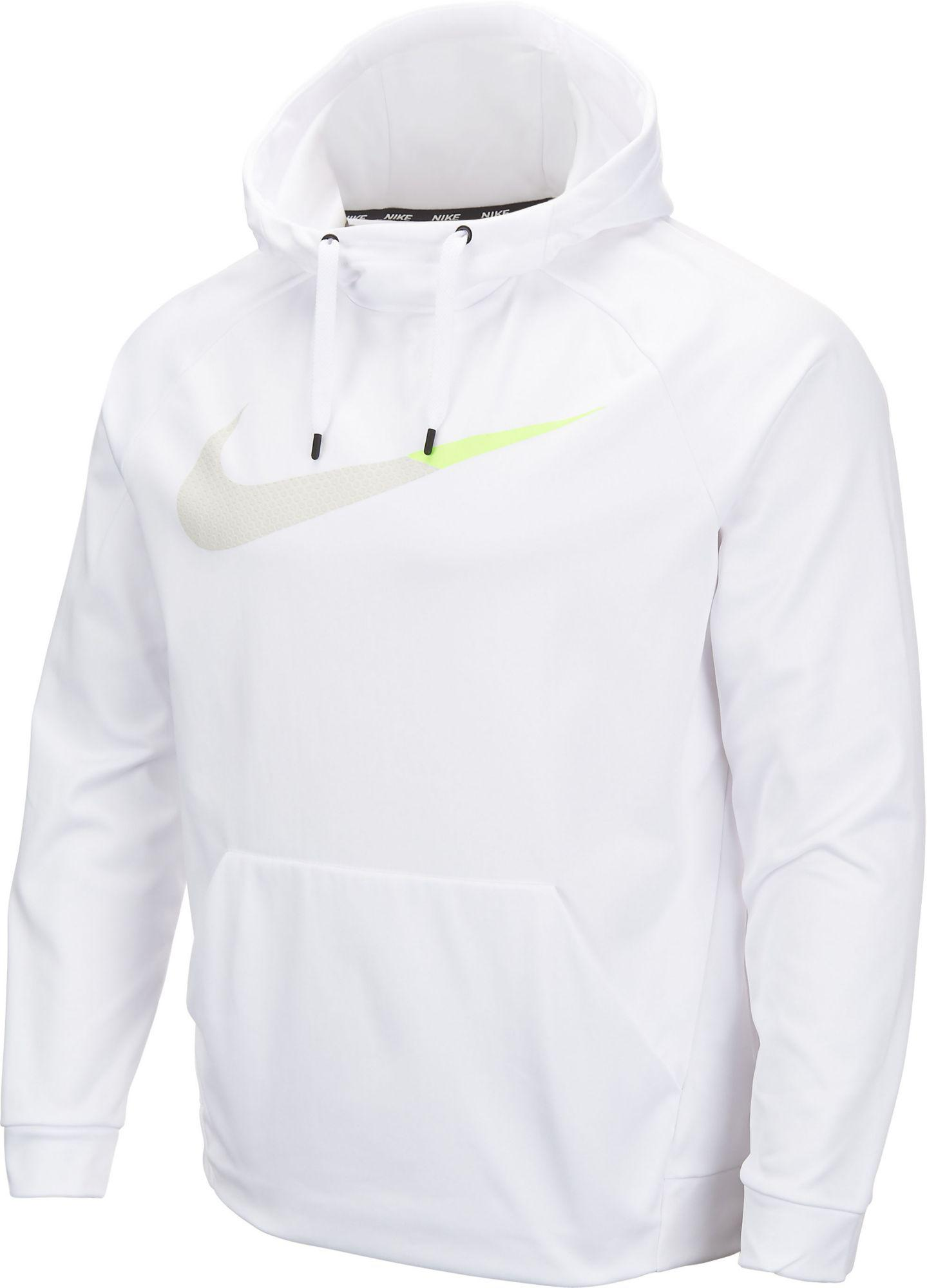 Mens Nike White Sweatshirts