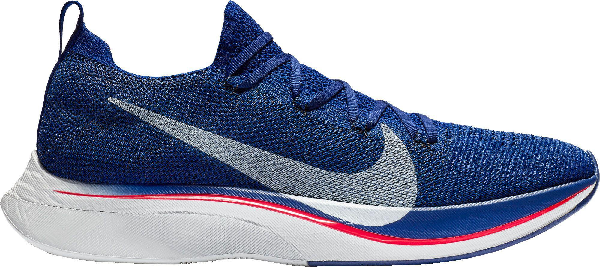 d71086c3447e Lyst - Nike Vaporfly 4% Flyknit Running Shoes in Blue for Men
