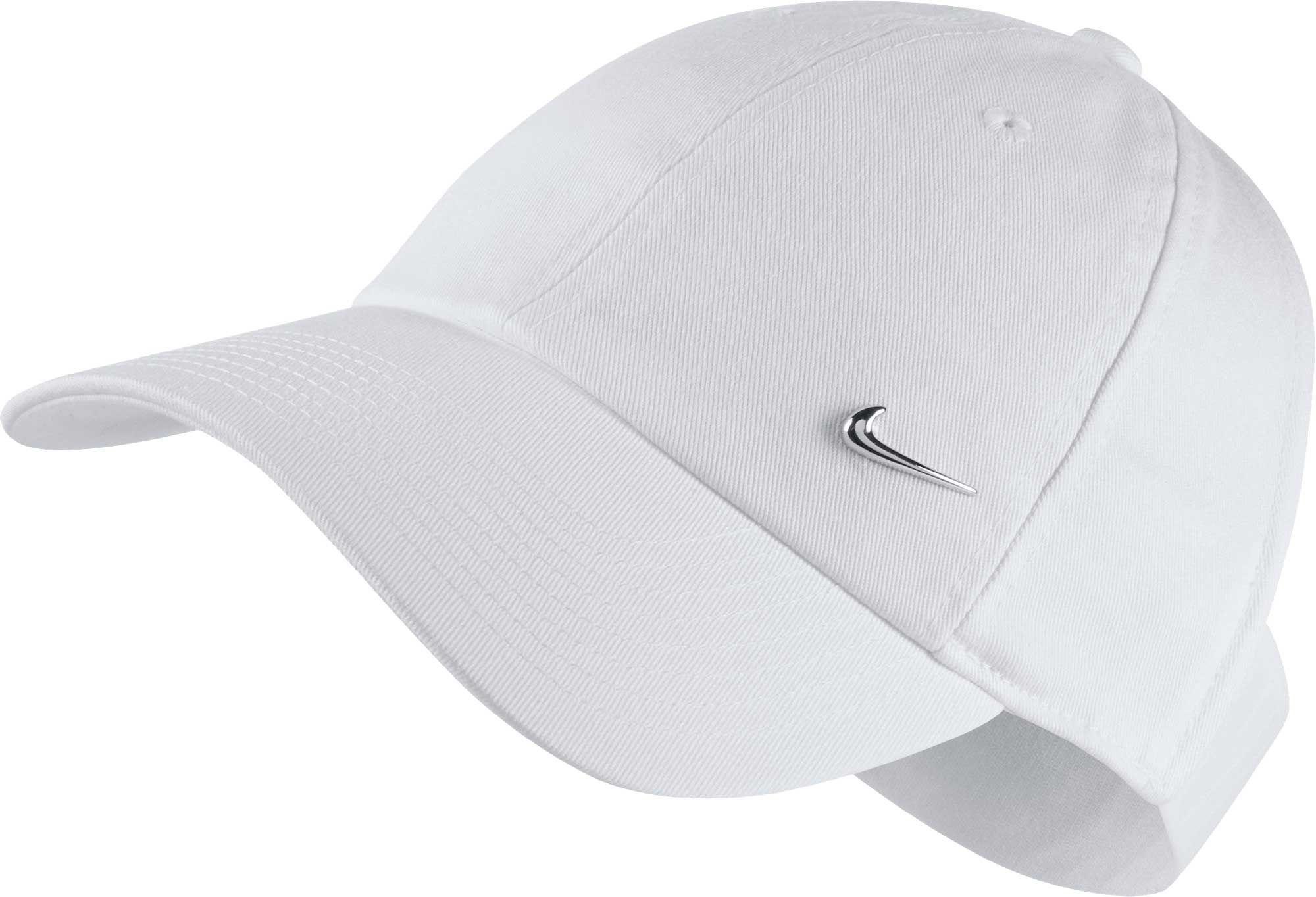27f551b036f new arrivals lyst nike sportswear open back visor hat in white 69b11 14d43