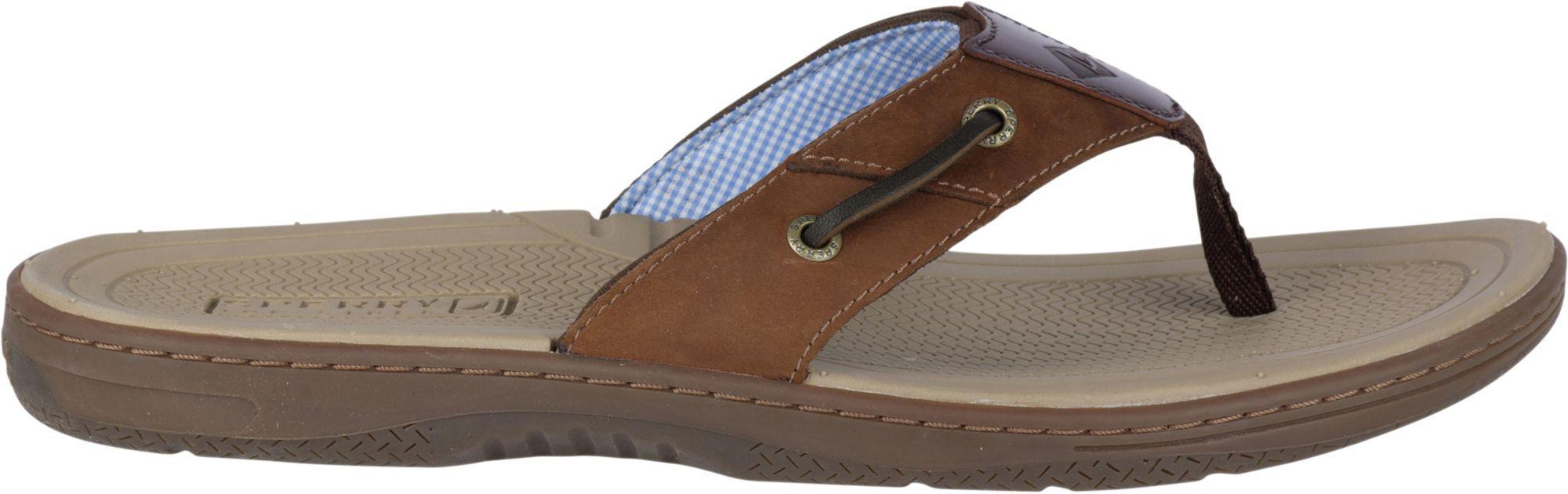 729954e7c46 Lyst - Sperry Top-Sider Sperry Baitfish Flip Flops in Brown for Men