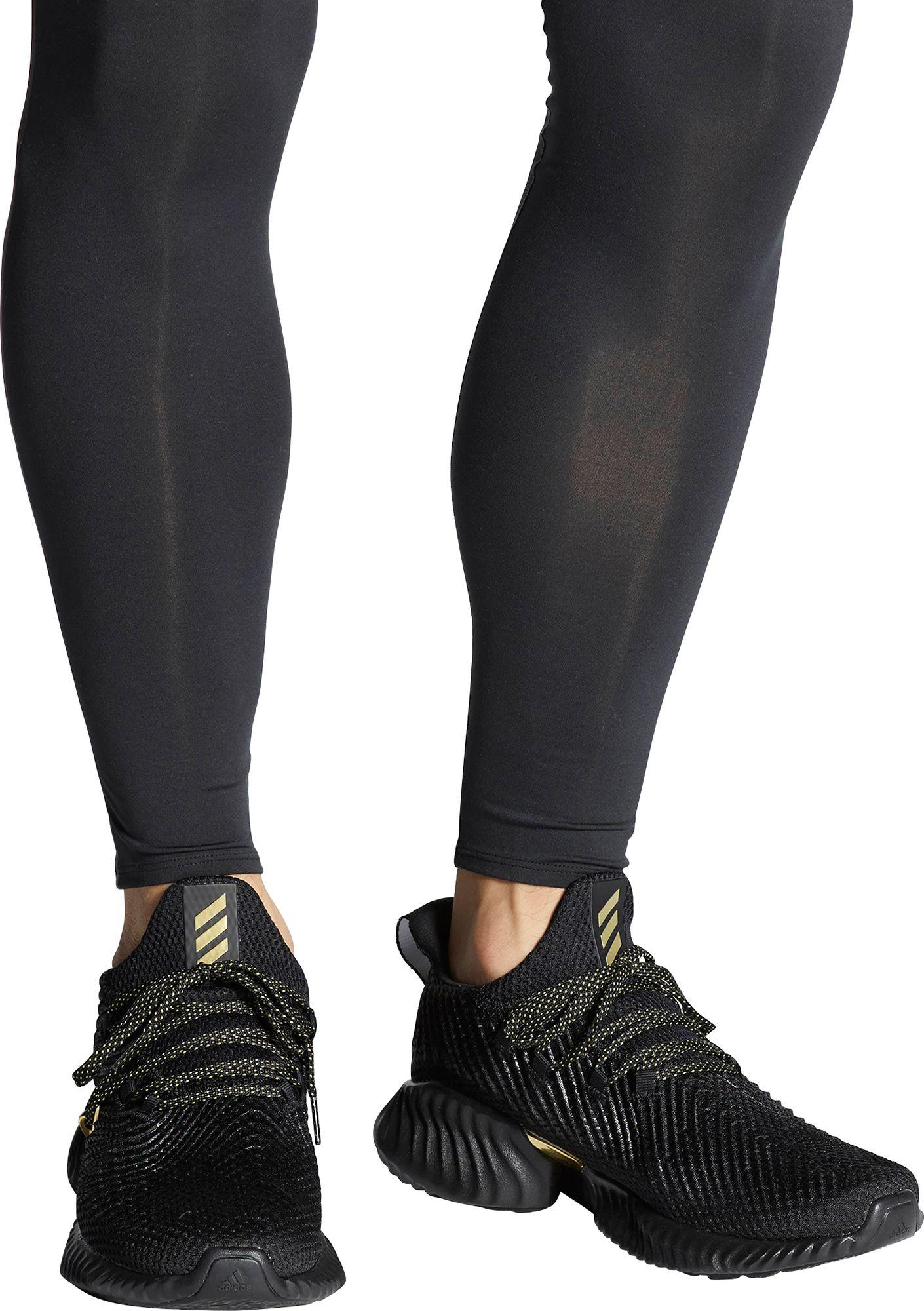 2a76ddc64 Adidas - Black Alphabounce Instinct Three Stripe Life Running Shoes for Men  - Lyst. View fullscreen