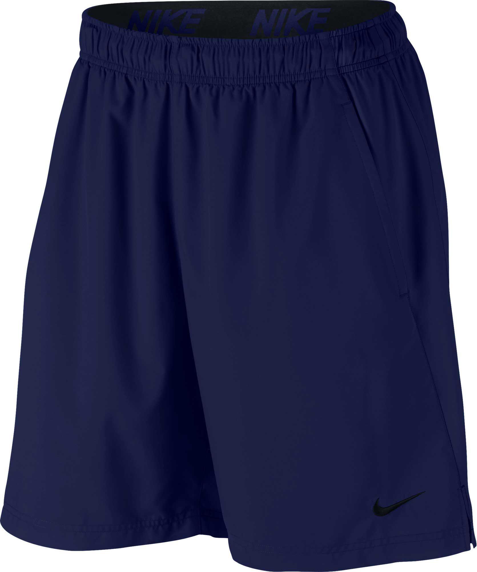 d9c43f77de Lyst - Nike Flex Woven Shorts in Blue for Men