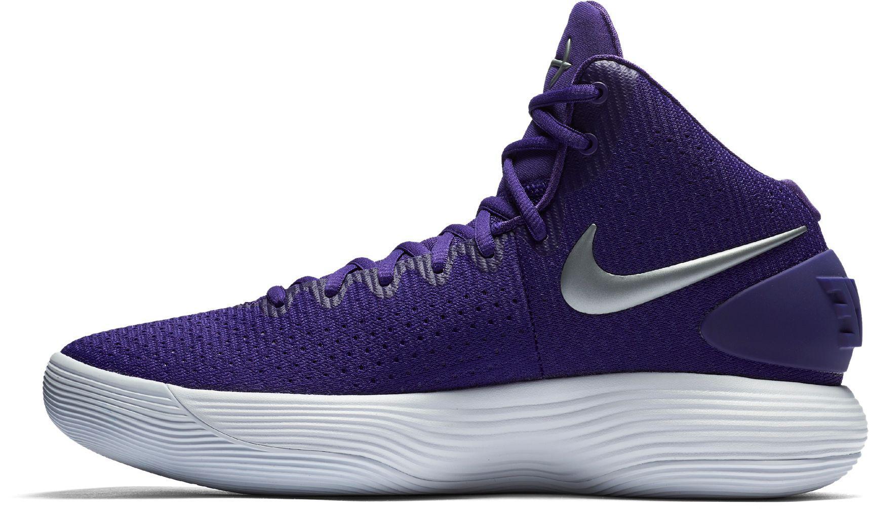 2aa5c5647bfa Nike React Hyperdunk 2017 Basketball Shoes in Purple for Men - Lyst