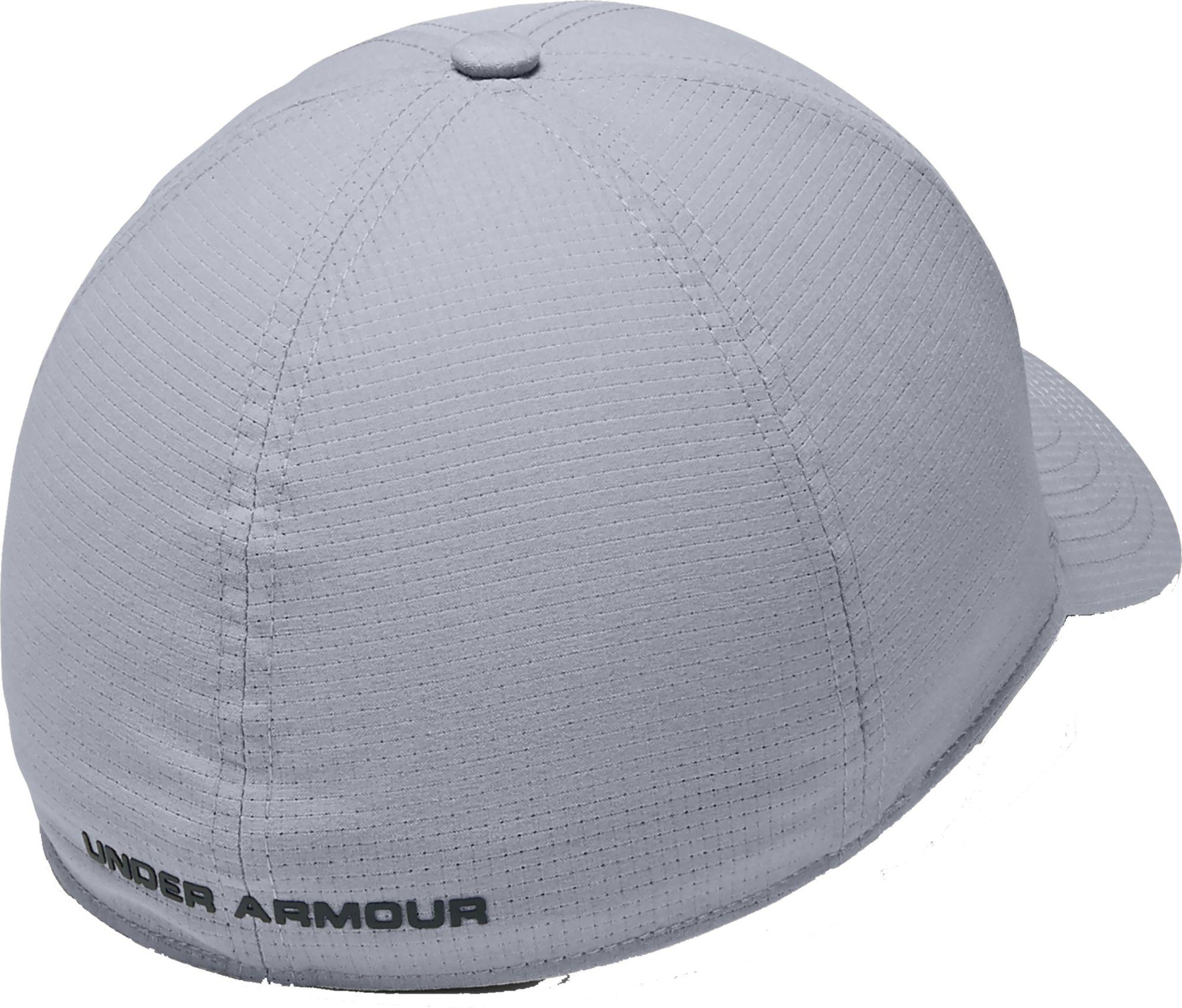 8c3b5ce9658 Under Armour - Gray Coolswitch Armourvent Fishing Hat for Men - Lyst. View  fullscreen