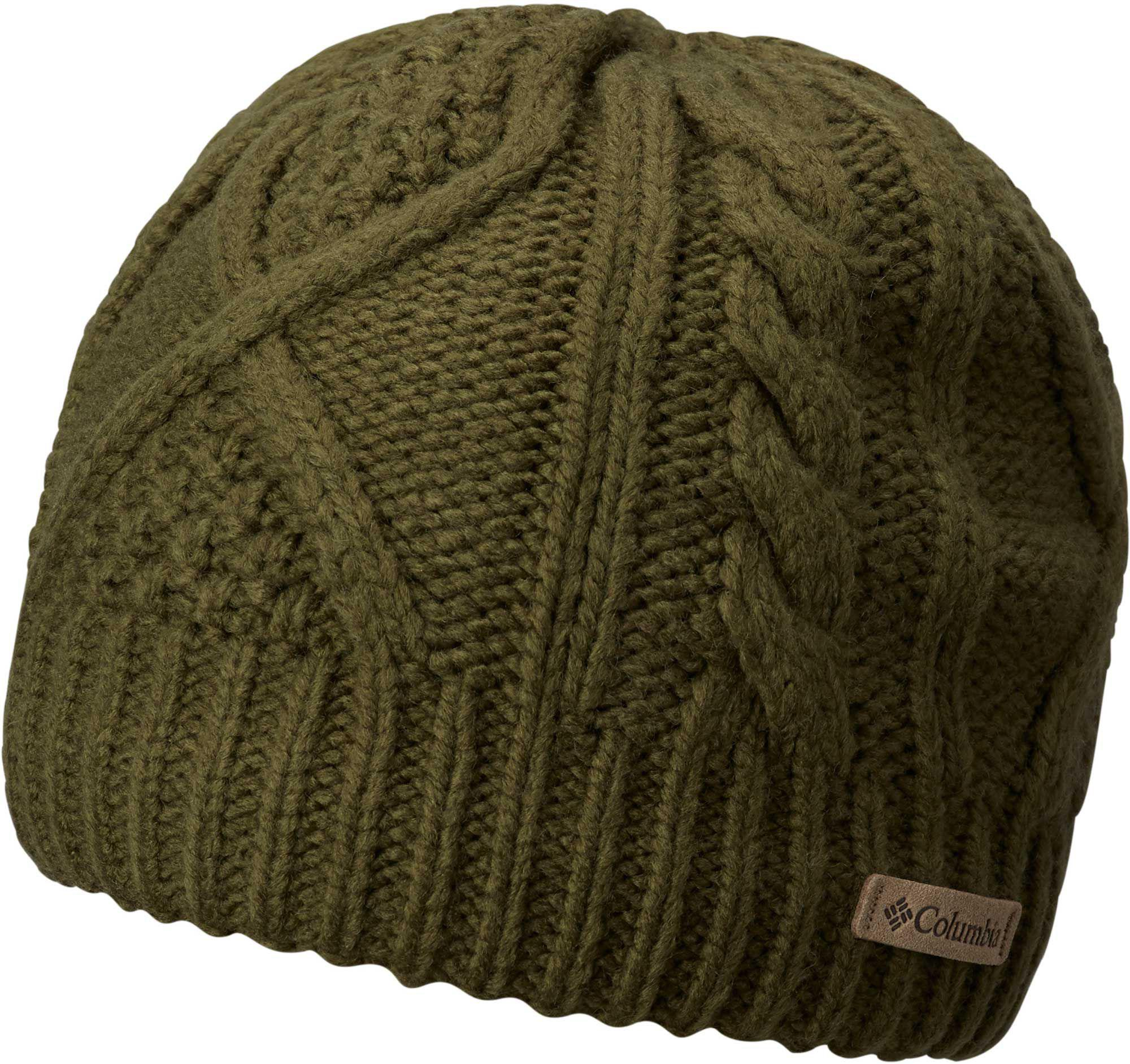 aed660d145c Columbia - Green Cabled Cutie Beanie - Lyst. View fullscreen