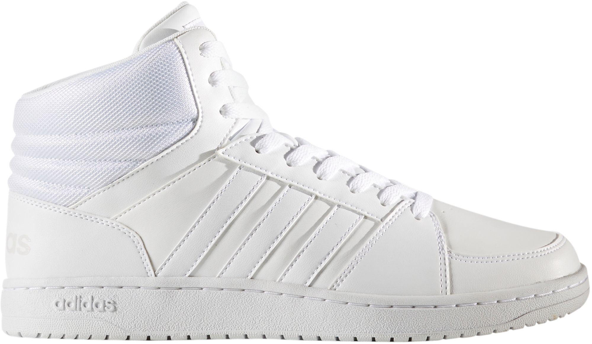 Hoops Vs Neo For White Mid Men Shoes In Lyst Adidas wOfgRR