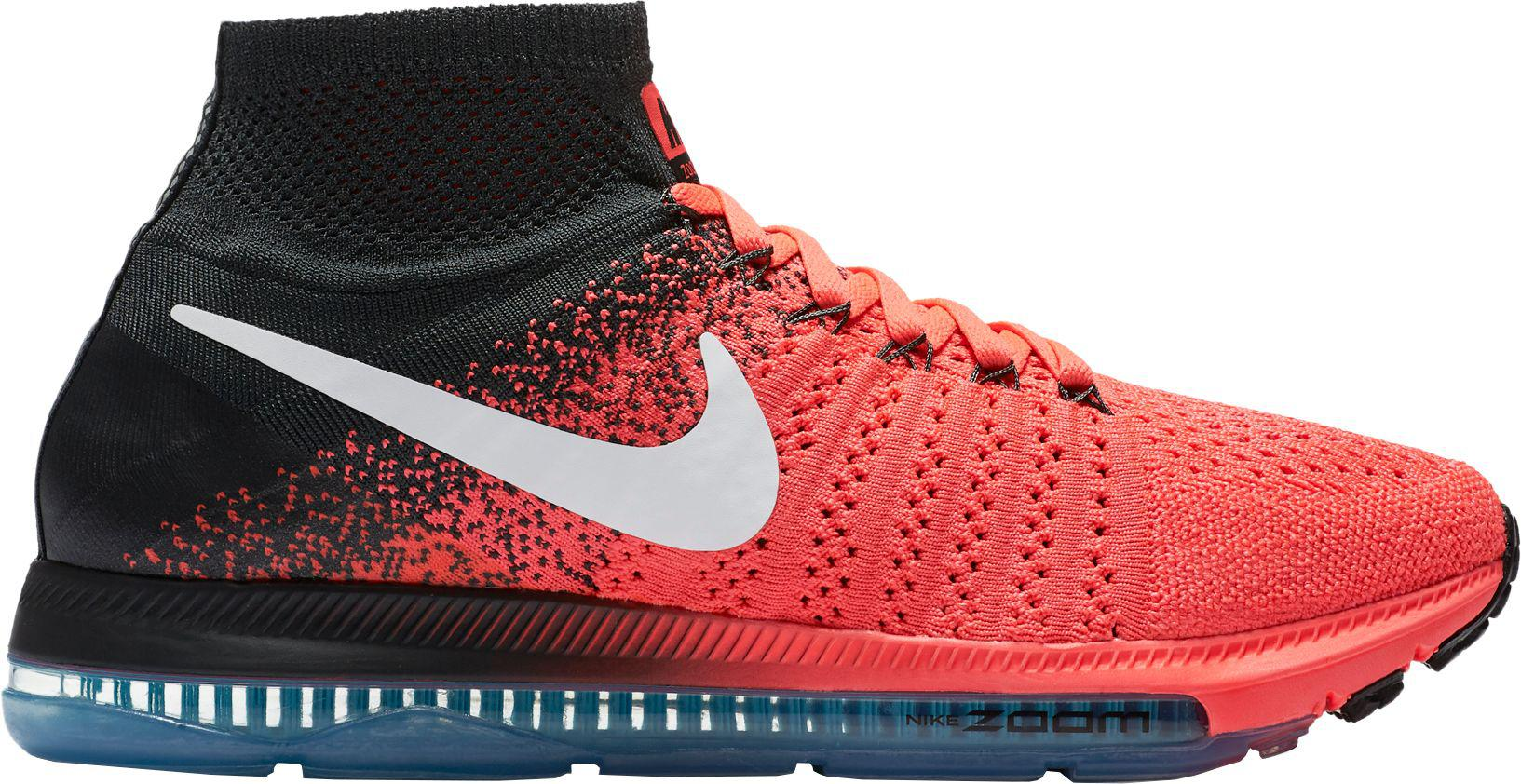 ab15ee301fdc Lyst - Nike Zoom All Out Flyknit Running Shoes in Red for Men