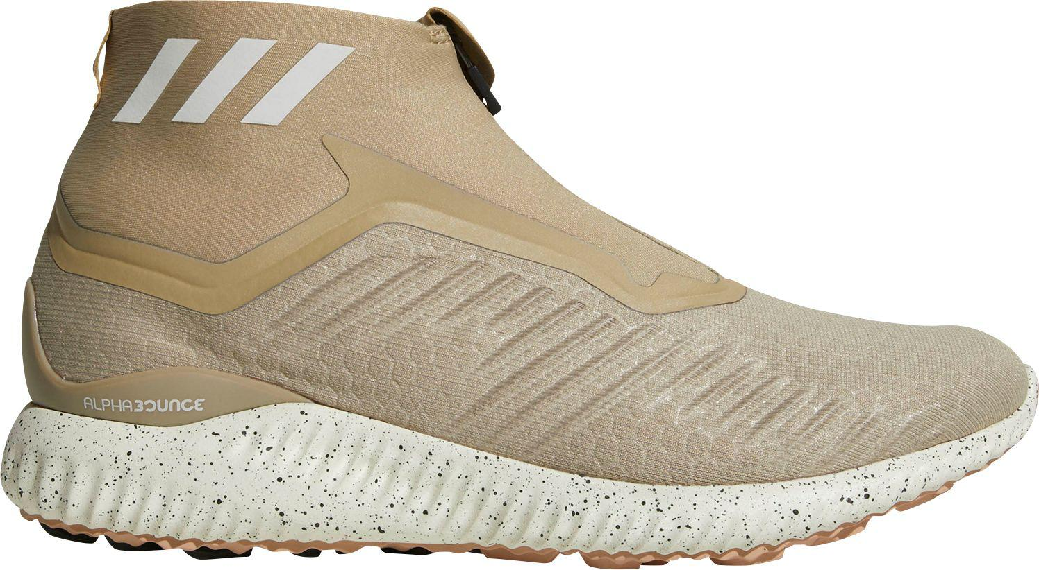 super popular 1c05b 4a807 Lyst - adidas Alphabounce Zip Running Shoes in Brown for Men