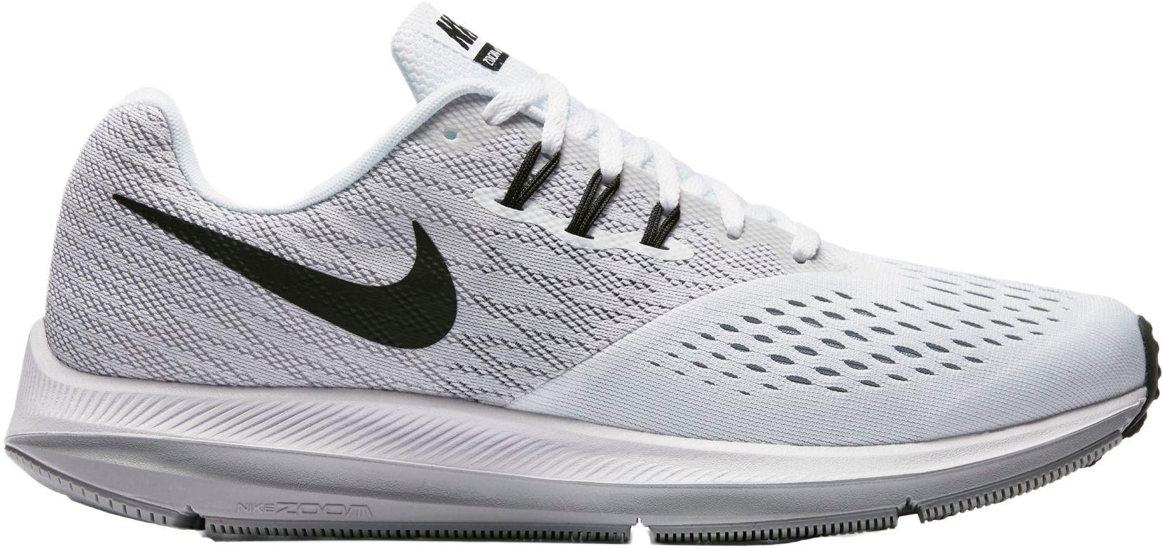 82bed3ed75a Lyst - Nike Air Zoom Winflo 4 Running Shoes in White for Men