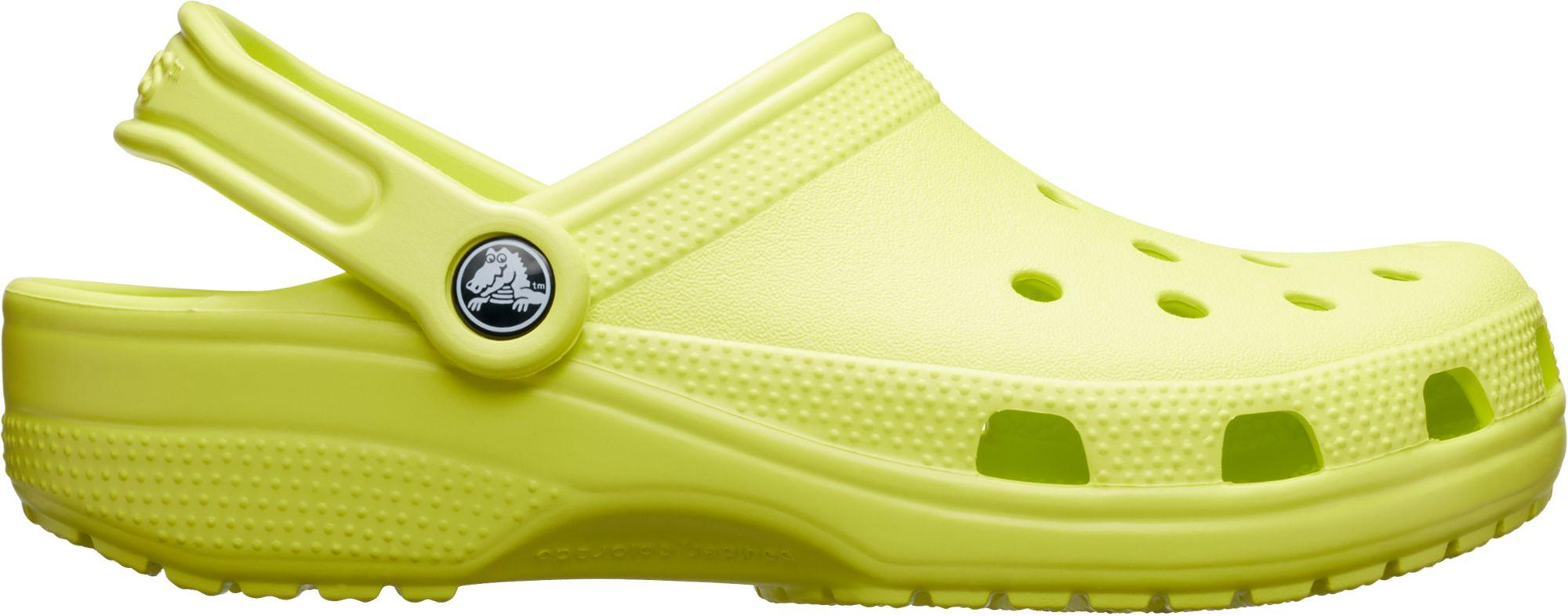 01564a7d8 Lyst - Crocs™ Adult Original Classic Clogs in Yellow