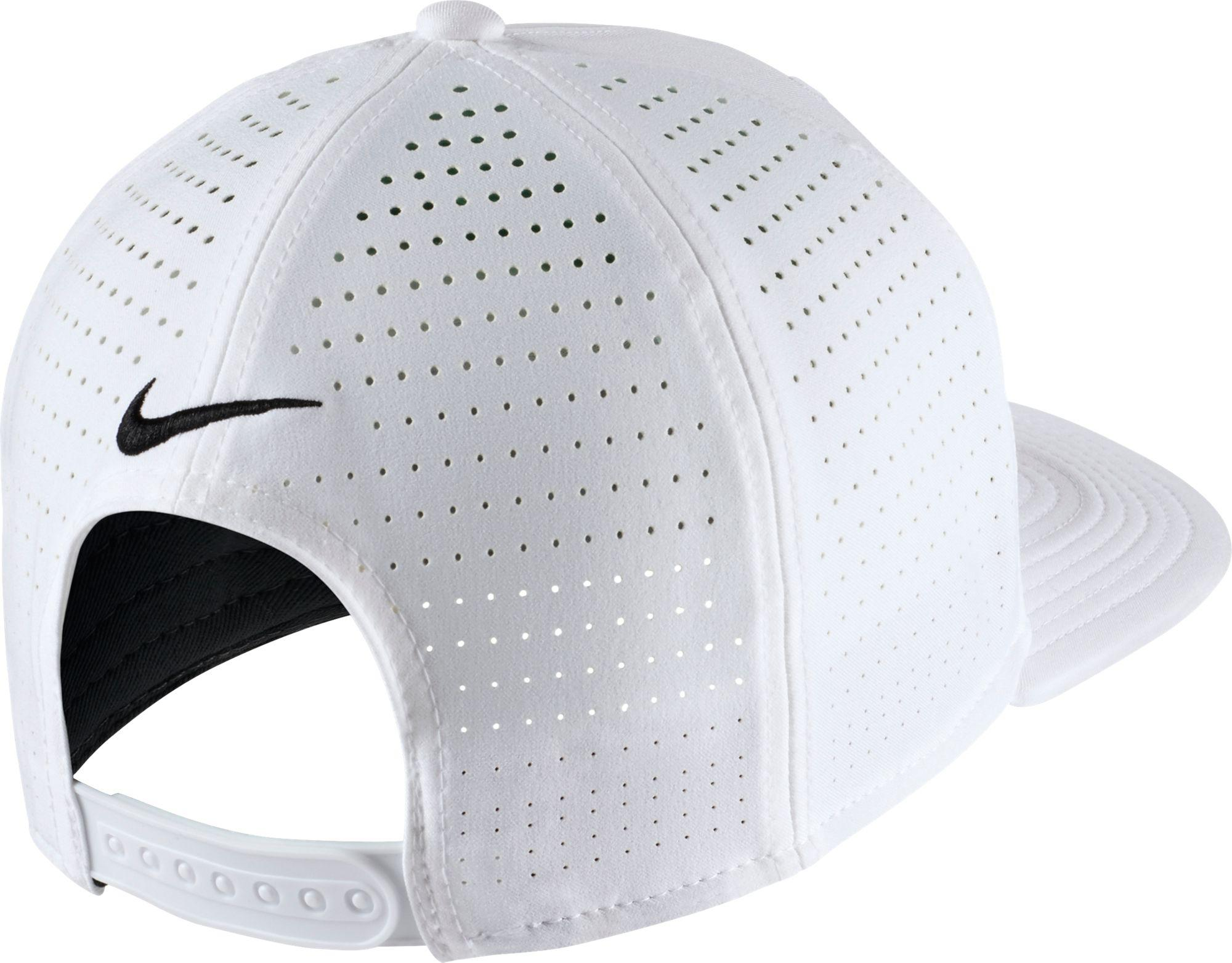 Lyst - Nike Ohio State Buckeyes Pro Perforated Golf Hat in White for Men b3f0ff349