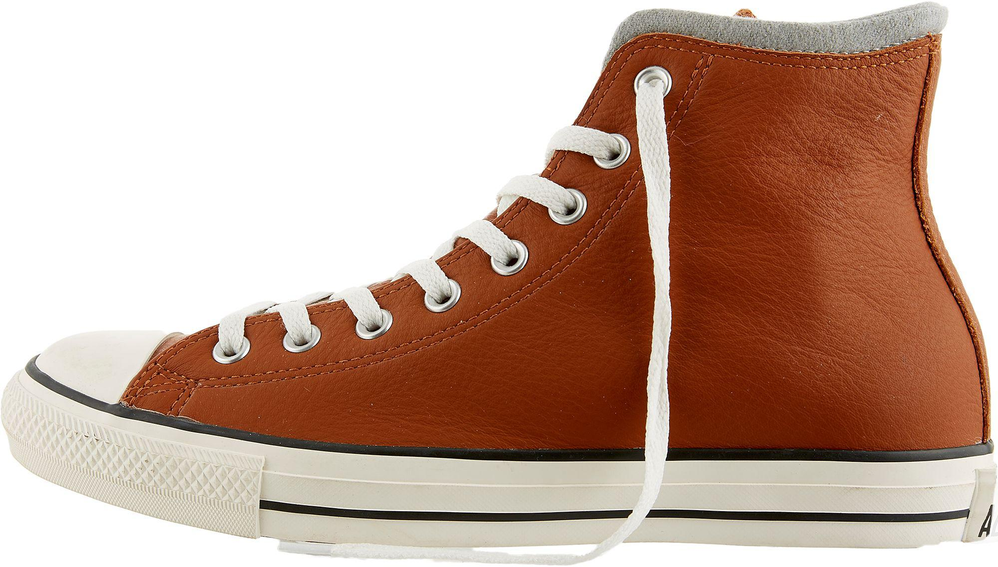 a930765e28f3c0 Lyst - Converse Chuck Taylor All Star Leather Wool Hi-top Casual ...