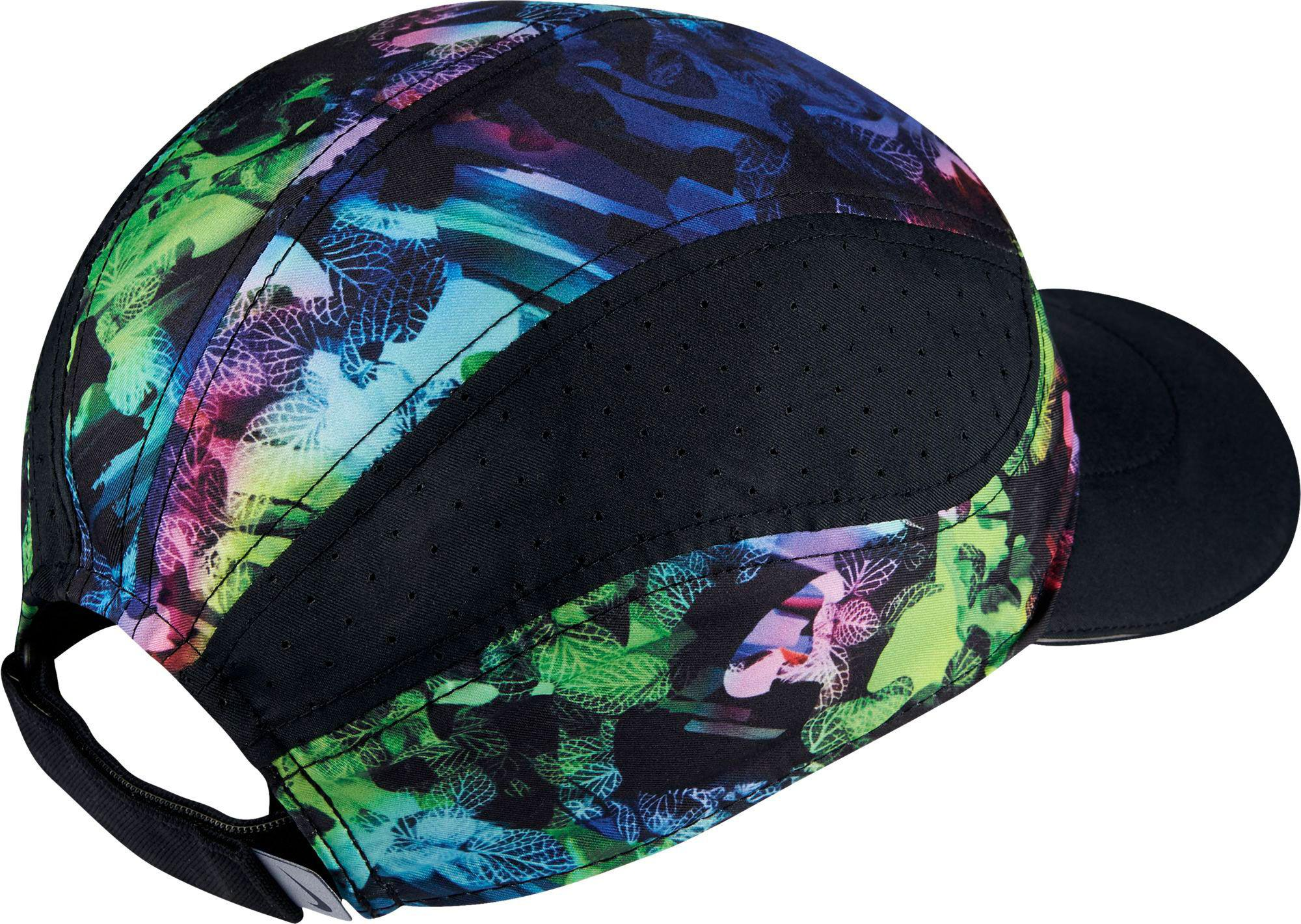 7e0b977a213f6 ... authentic lyst nike aerobill adjustable running hat in black for men  da9ed d3d72 ...