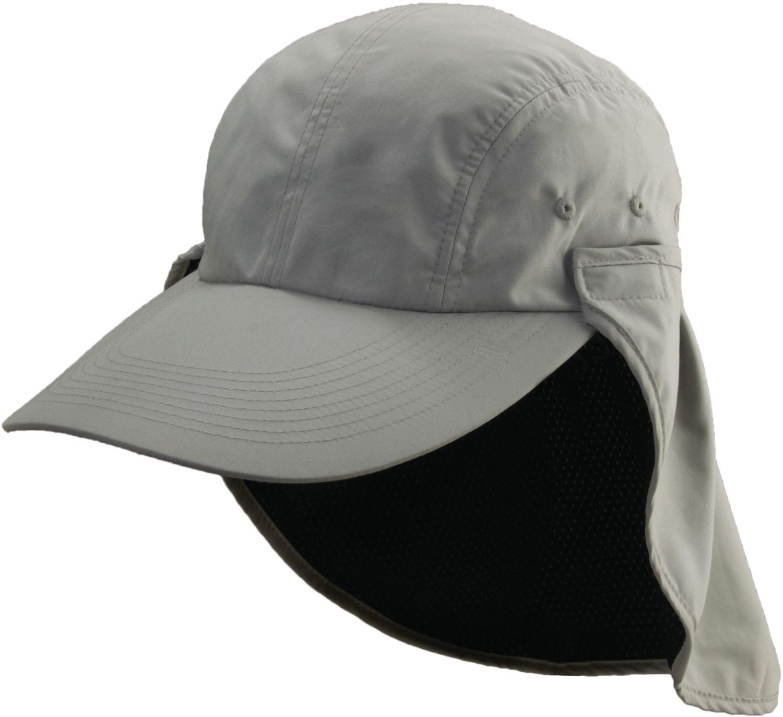 Lyst - Dorfman Pacific Long Bill Fishing Hat in Gray for Men fdd4d7e5784