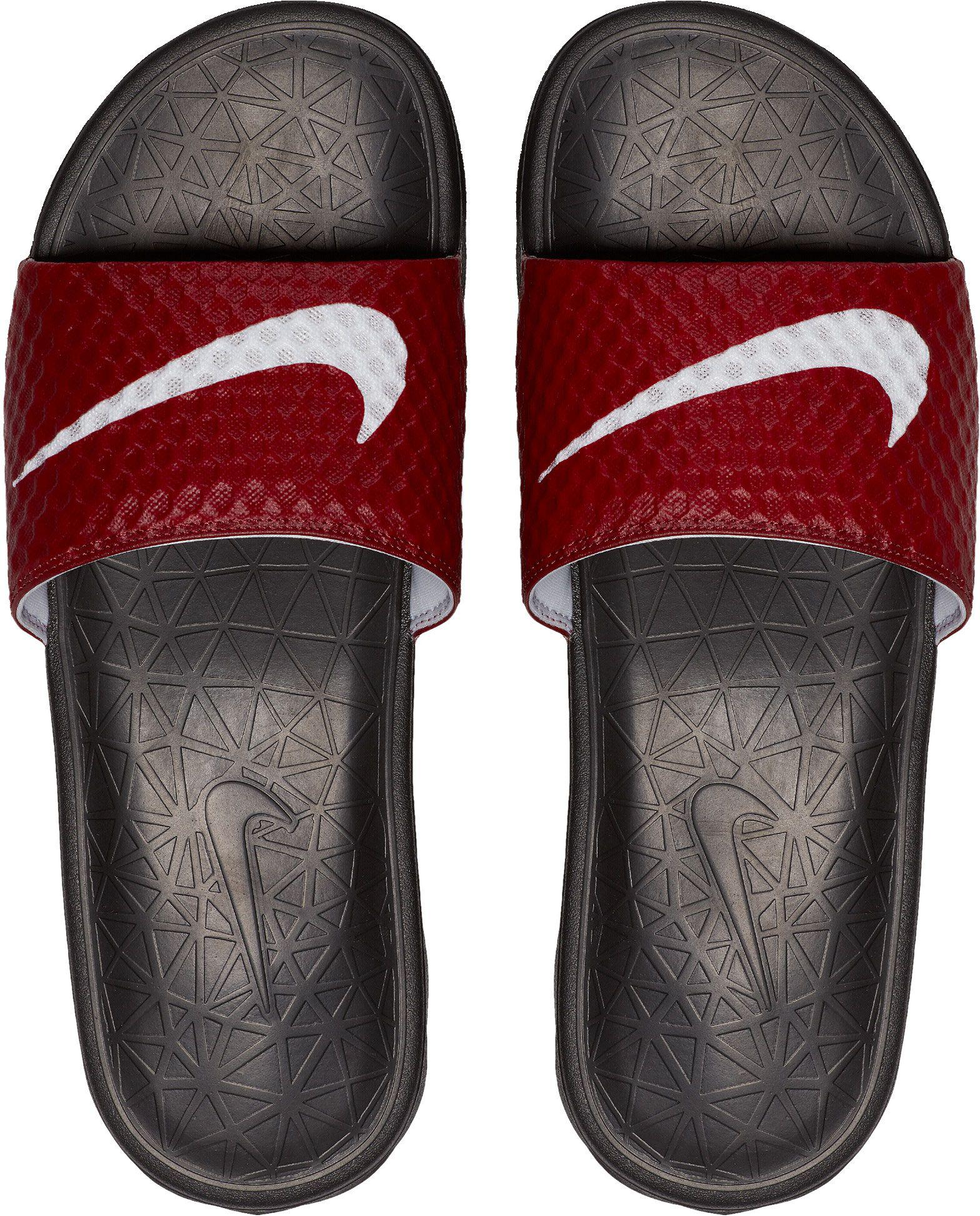 cdfae53ef Lyst - Nike Enassi Solarsoft 2 Slides in Red for Men