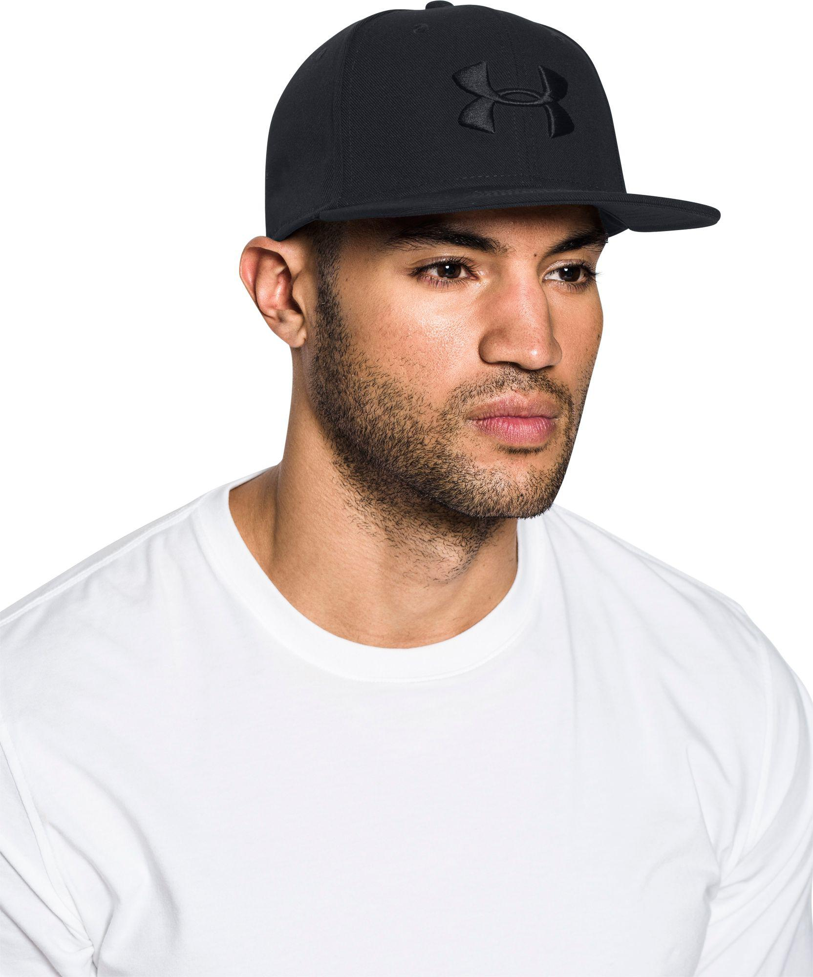 9bfc7b5ad53 Lyst - Under Armour Elevate Update Hat in Black for Men
