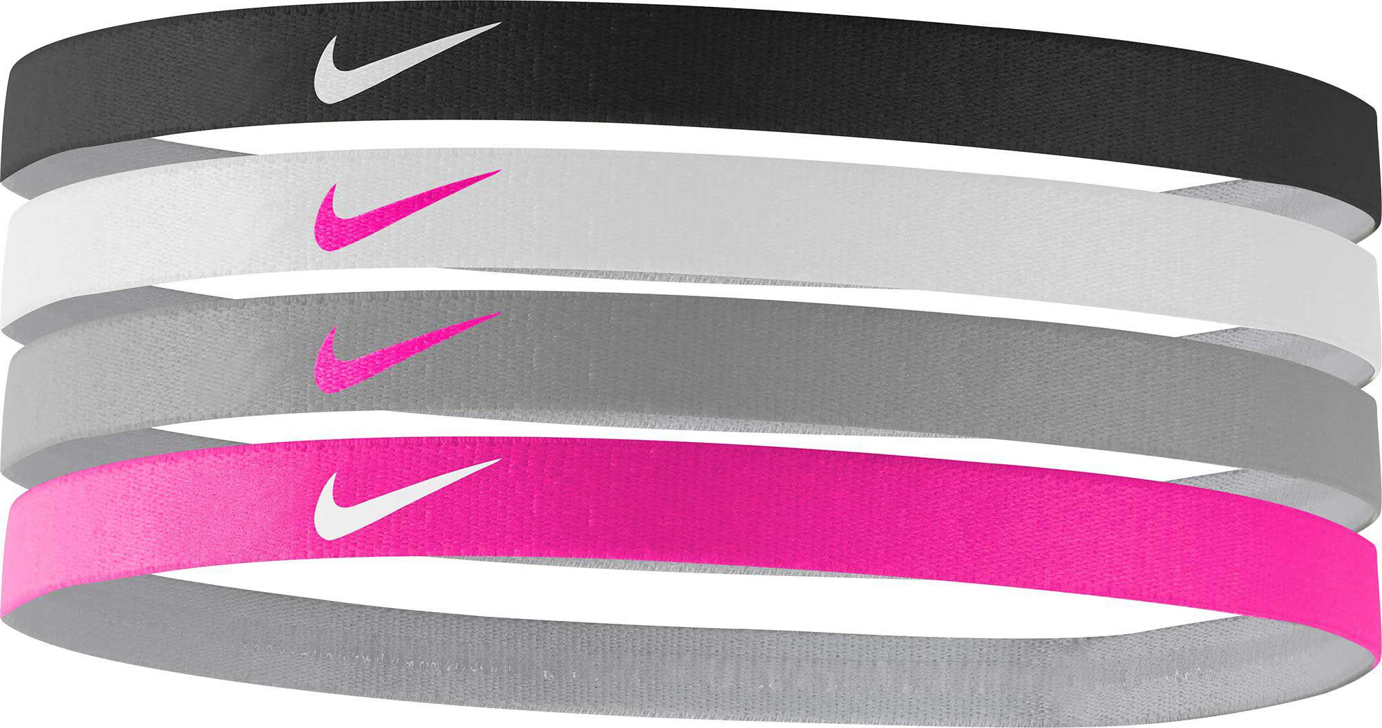 Lyst - Nike Girls  Assorted Headbands – 4 Pack in Pink b057f8173b3