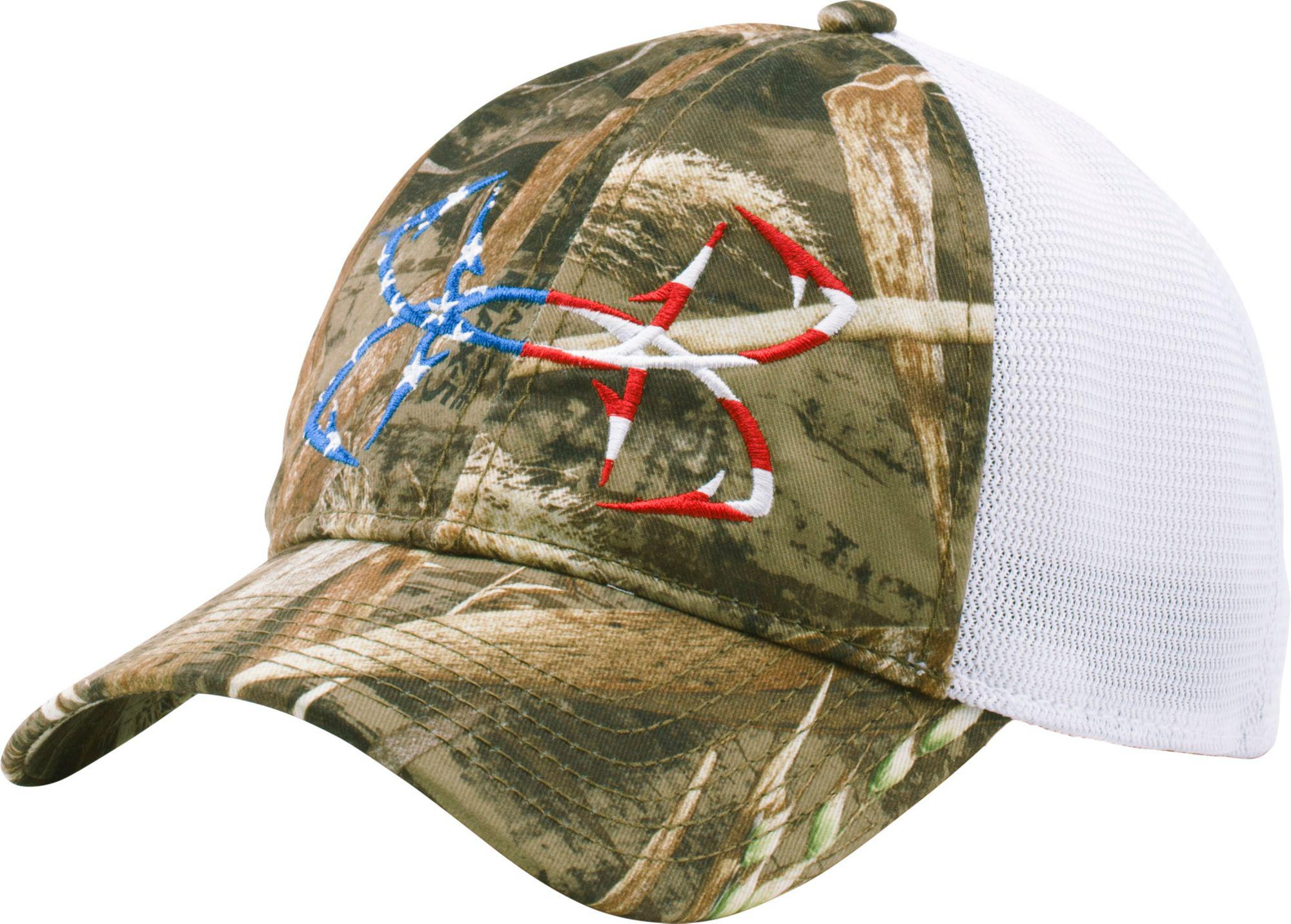 6881113b4 Lyst - Under Armour Fish Hook Camo Hat for Men