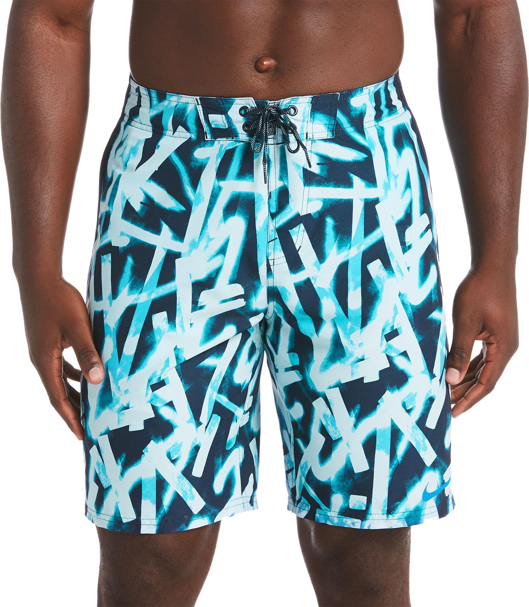 "Lyst - Nike Glow Diverge 9"" Board Shorts in Blue for Men"