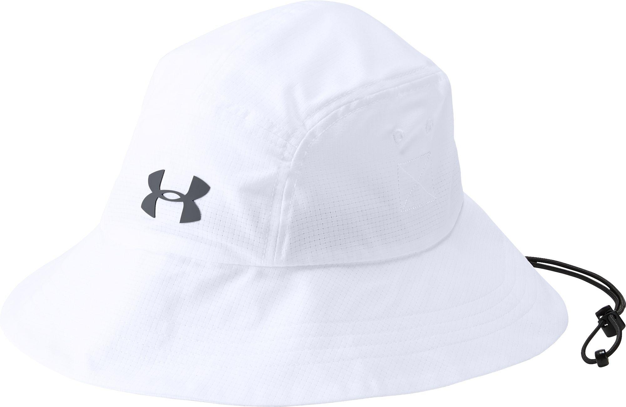 Lyst - Under Armour Armourvent Warrior 2.0 Bucket Hat in White for Men f77fed9f245f