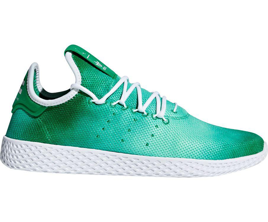 f6467f8919854 Adidas - Green Originals Pharrell Williams Tennis Hu Holi Shoes for Men -  Lyst