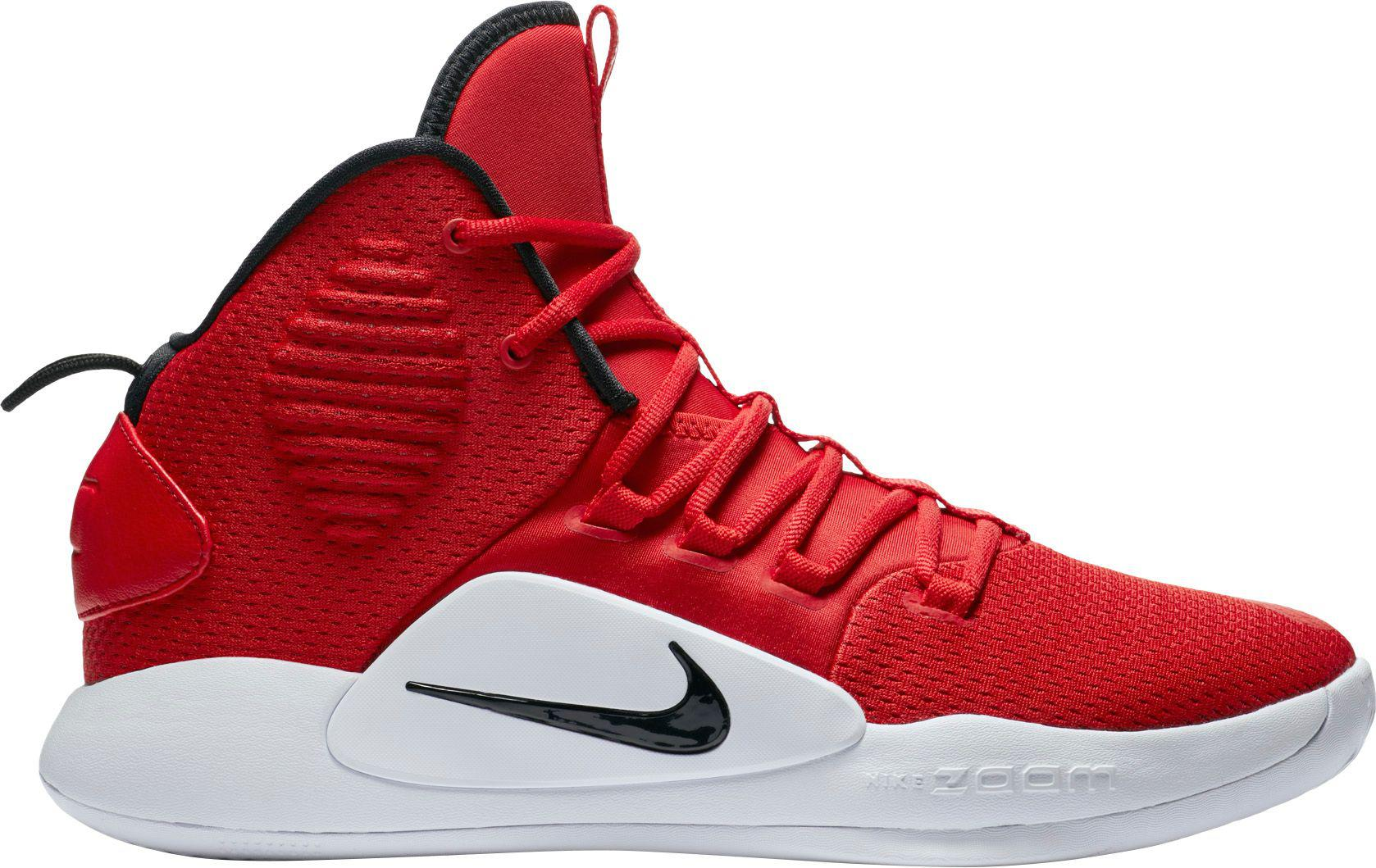 new arrival 45d19 2a61e Nike - Red Hyperdunk X Mid Tb Basketball Shoes for Men - Lyst