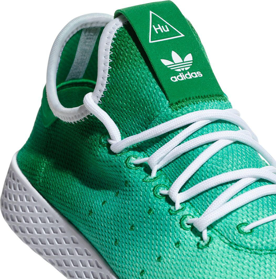 936a060cc308c Adidas - Green Originals Pharrell Williams Tennis Hu Holi Shoes for Men -  Lyst