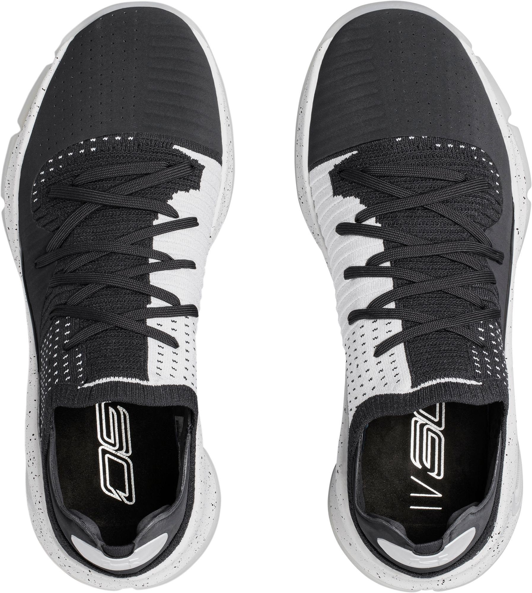 745787a4376 Under Armour Curry 4 Low Basketball Shoes in Gray for Men - Lyst