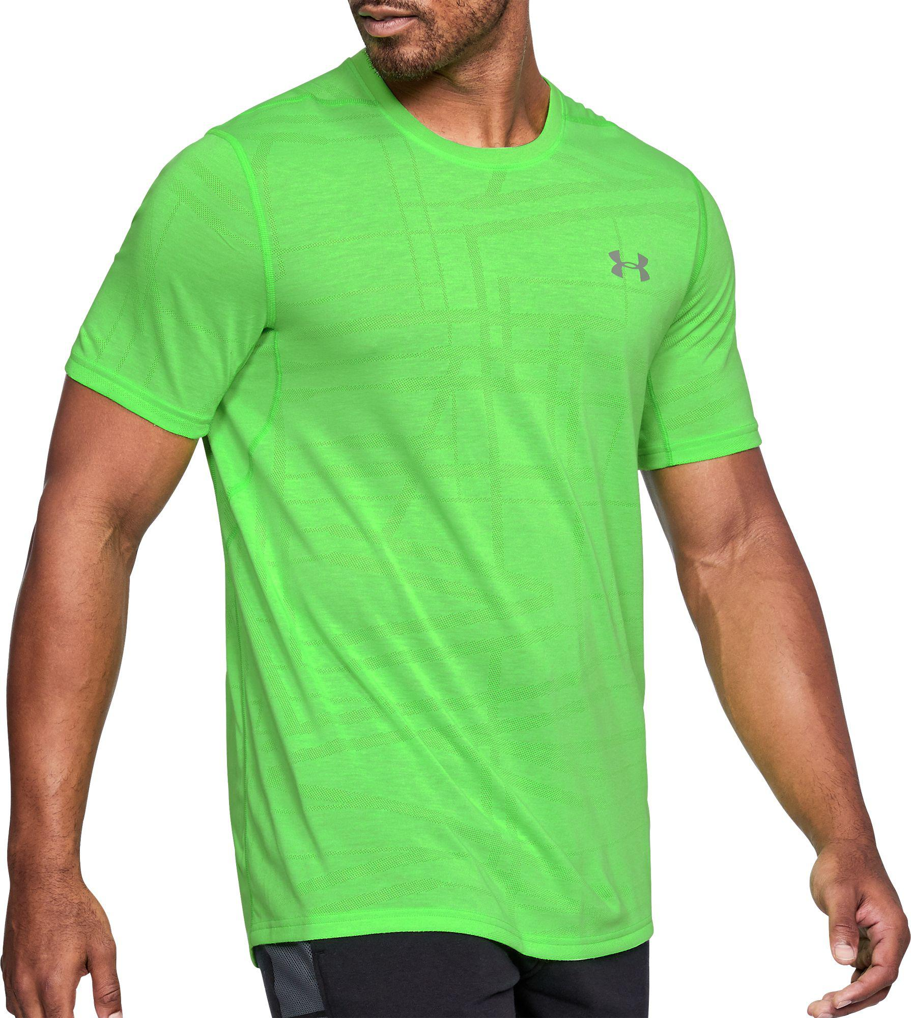 c4fa8dafc Under Armour Threadborne Siro Elite T-shirt in Green for Men - Lyst