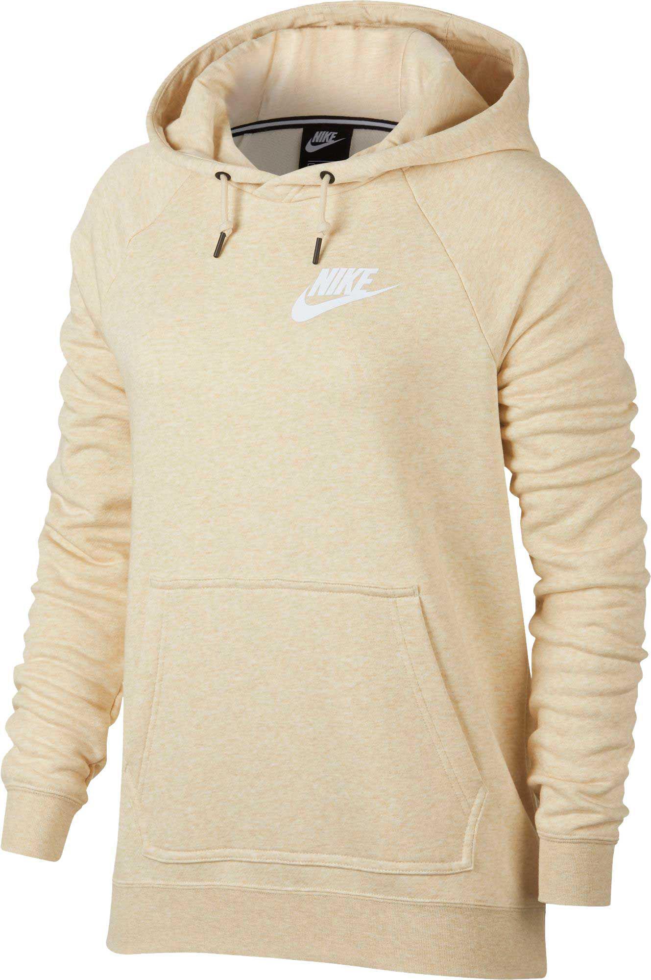ae1e173650ee2 Nike Sportswear Rally Hoodie in Natural - Lyst