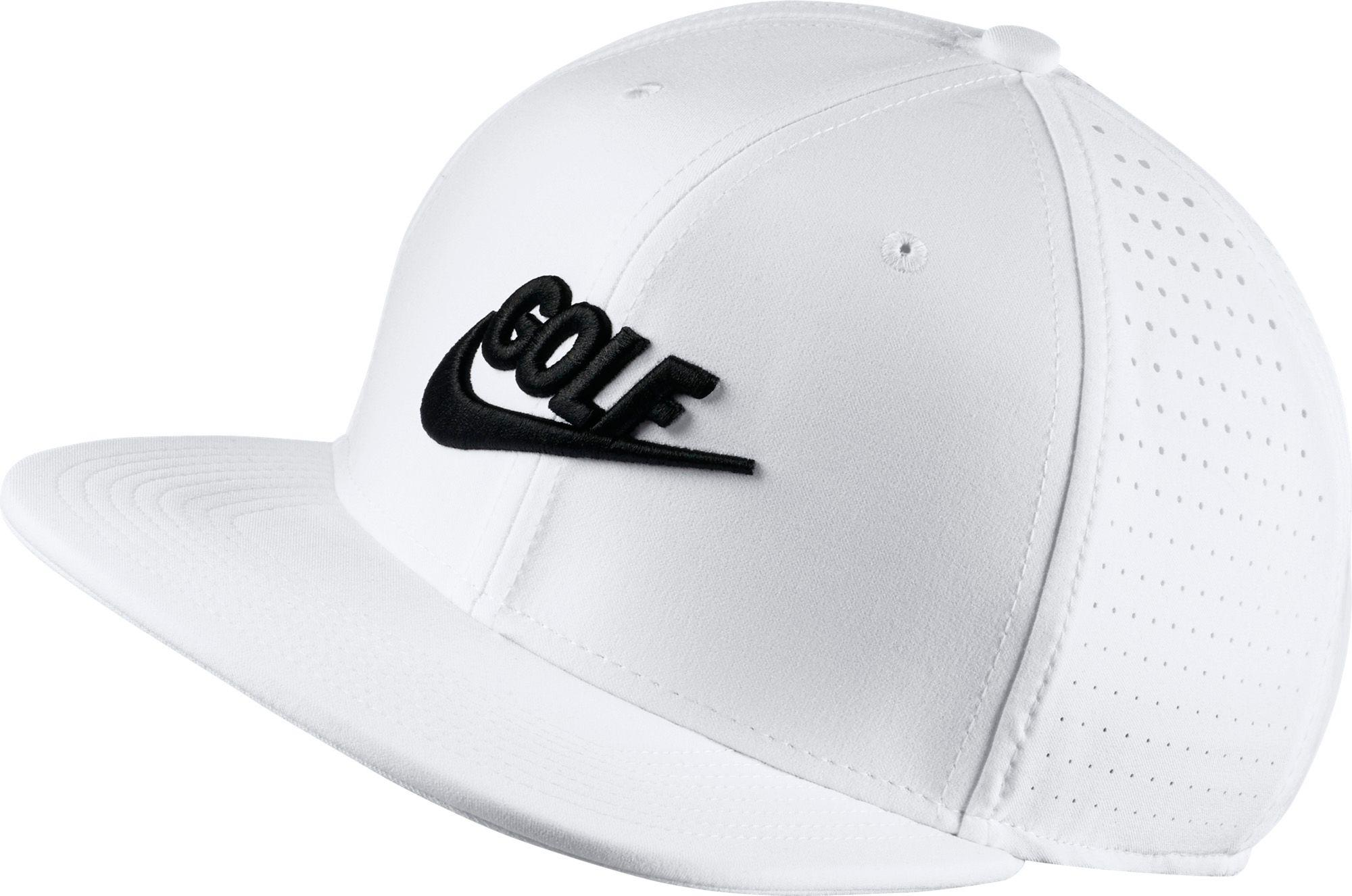 Lyst - Nike Perforated Snapback Golf Hat in White for Men 345979ff6a7a